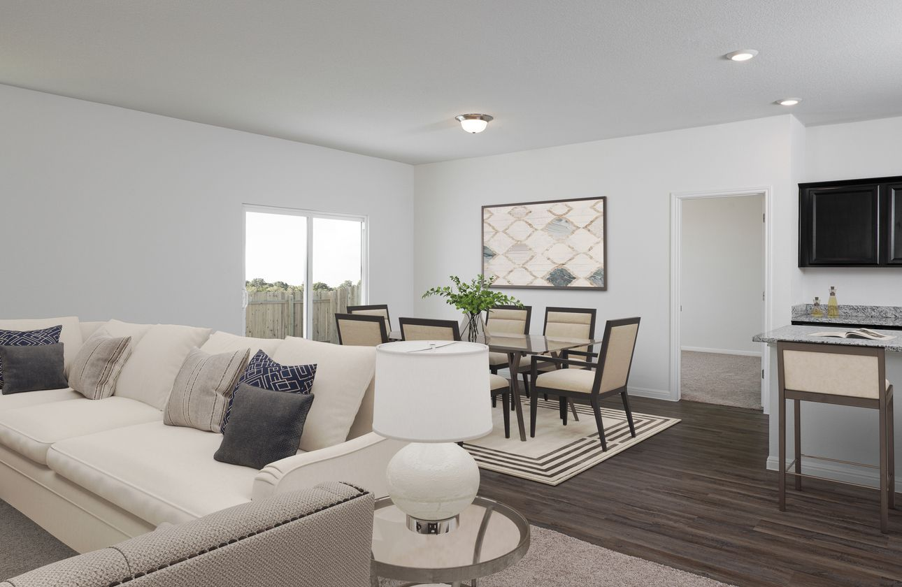 Living Area featured in the Firefly By Starlight Homes in Tampa-St. Petersburg, FL