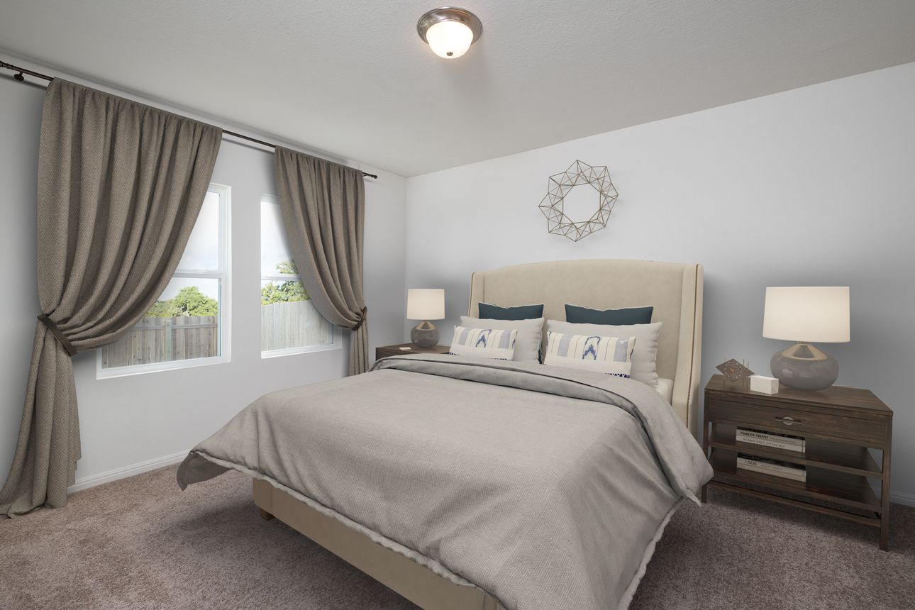 Bedroom featured in the Firefly By Starlight Homes in Austin, TX
