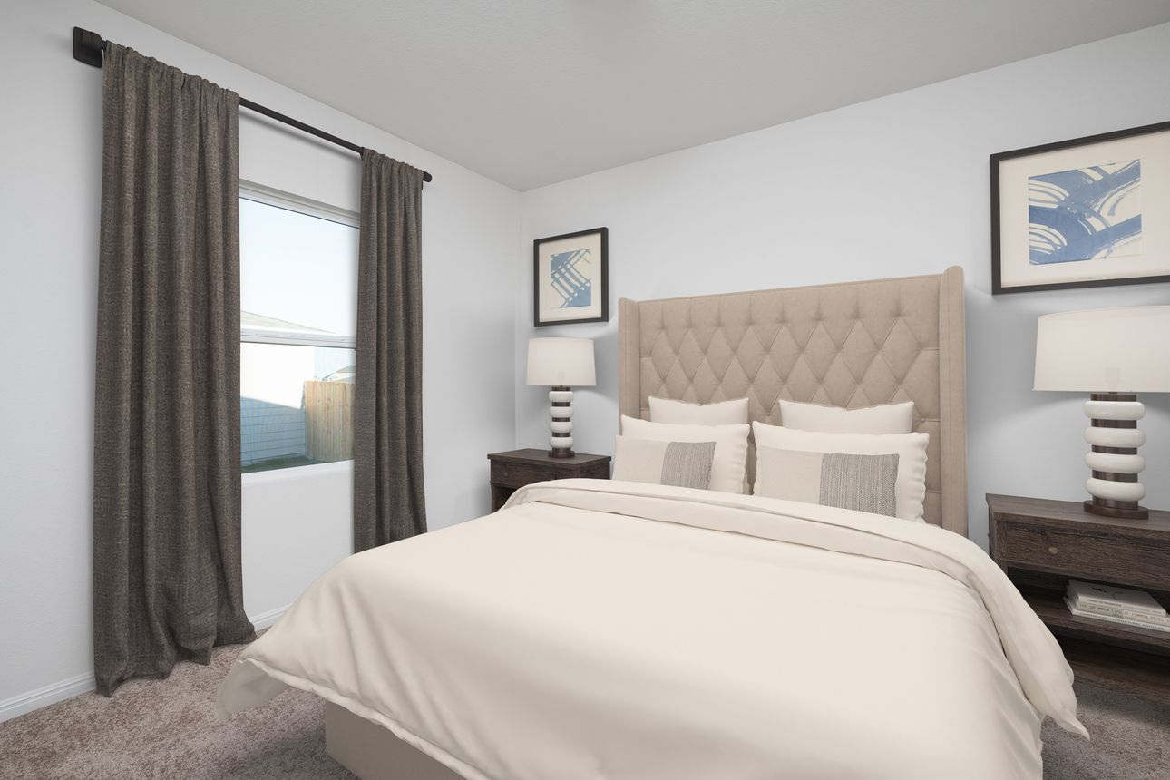 Bedroom featured in the Firefly By Starlight Homes in Houston, TX