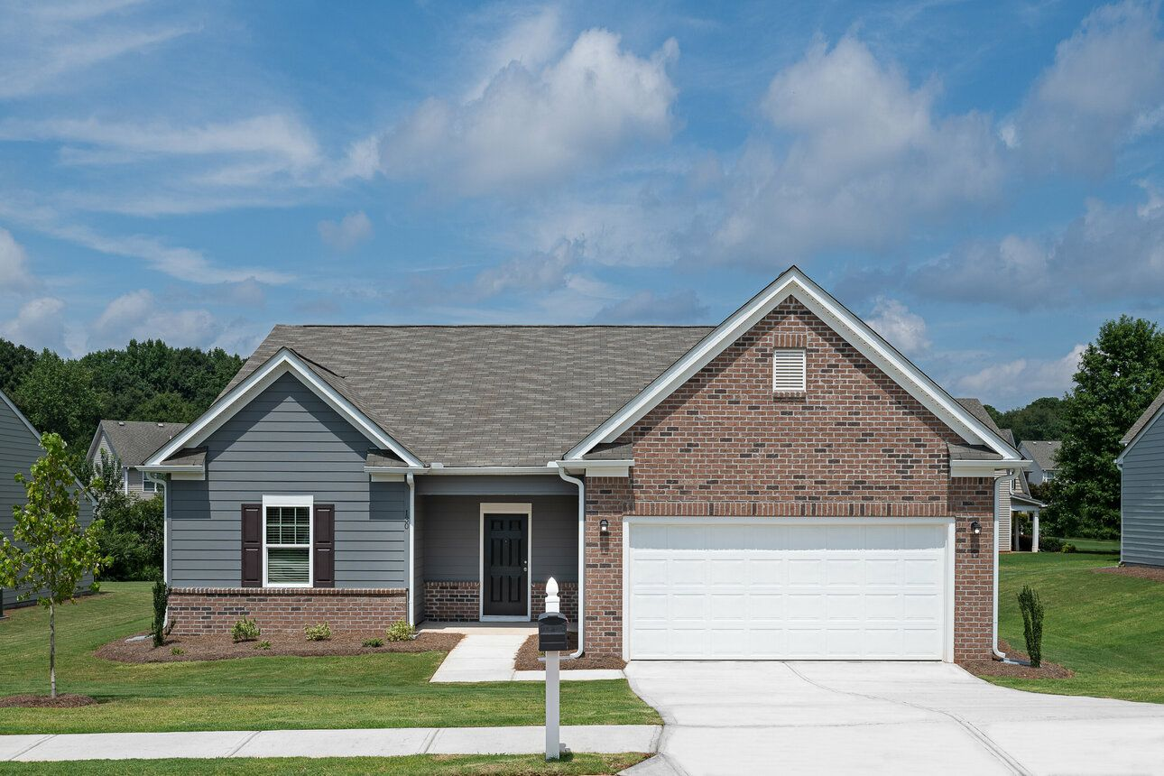 Exterior featured in the Europa By Starlight Homes in Atlanta, GA
