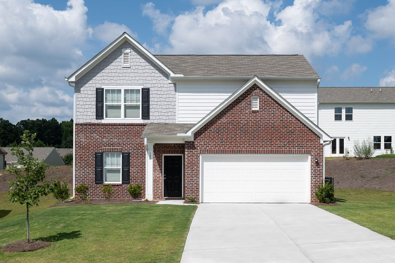 Exterior featured in the Beacon By Starlight Homes in Atlanta, GA