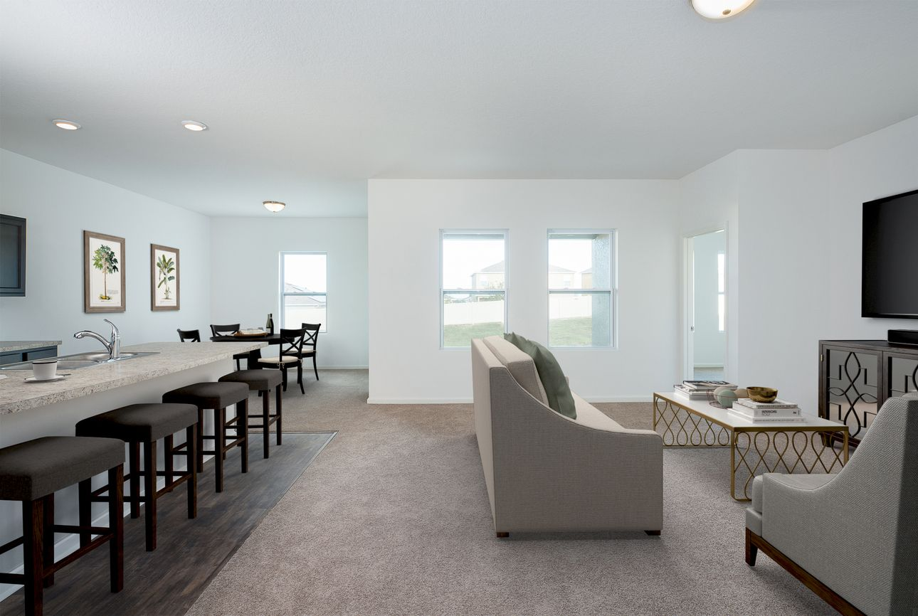Living Area featured in the Hawking By Starlight Homes in Orlando, FL
