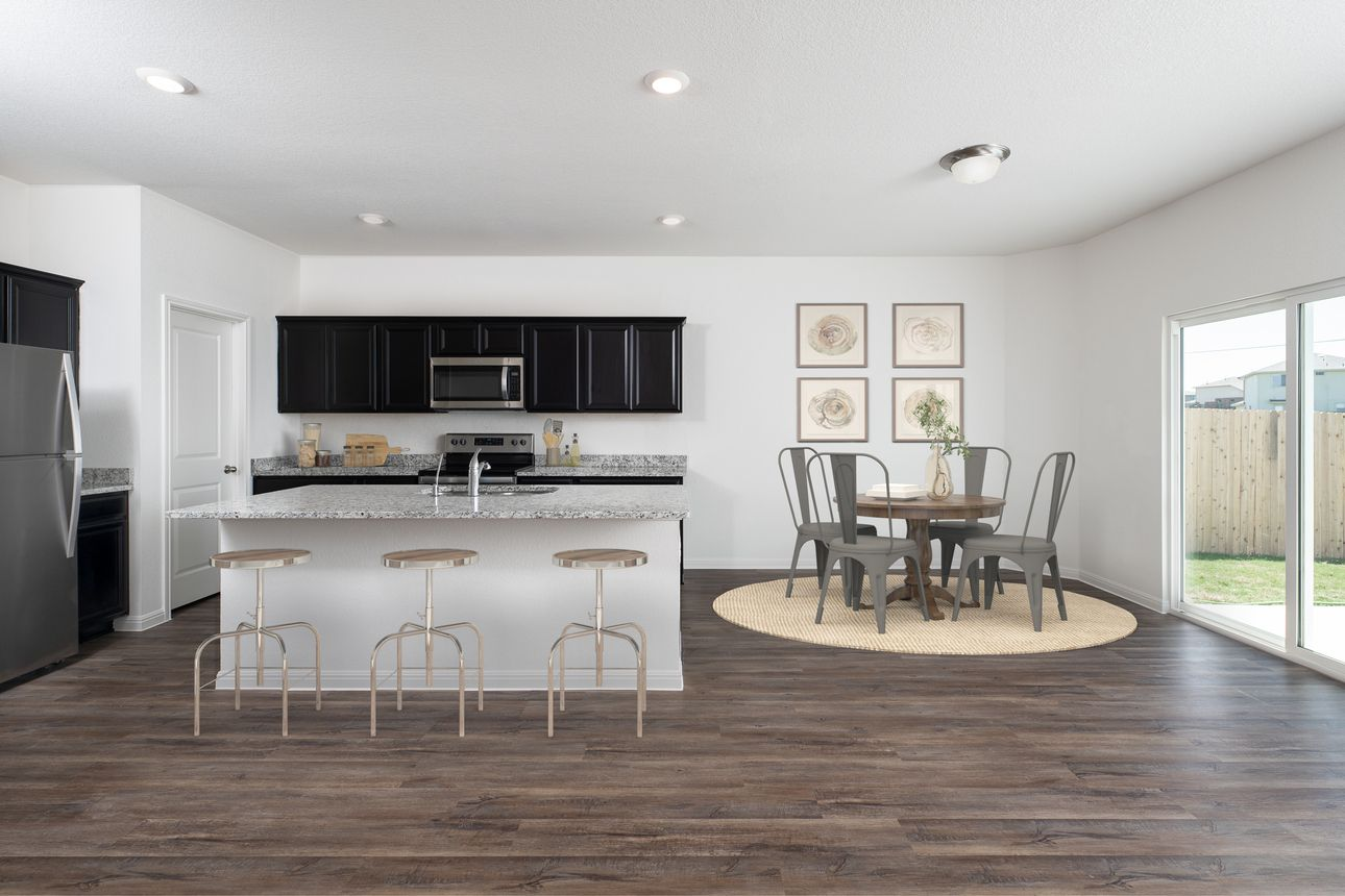 Kitchen featured in the Spectra By Starlight Homes in San Antonio, TX