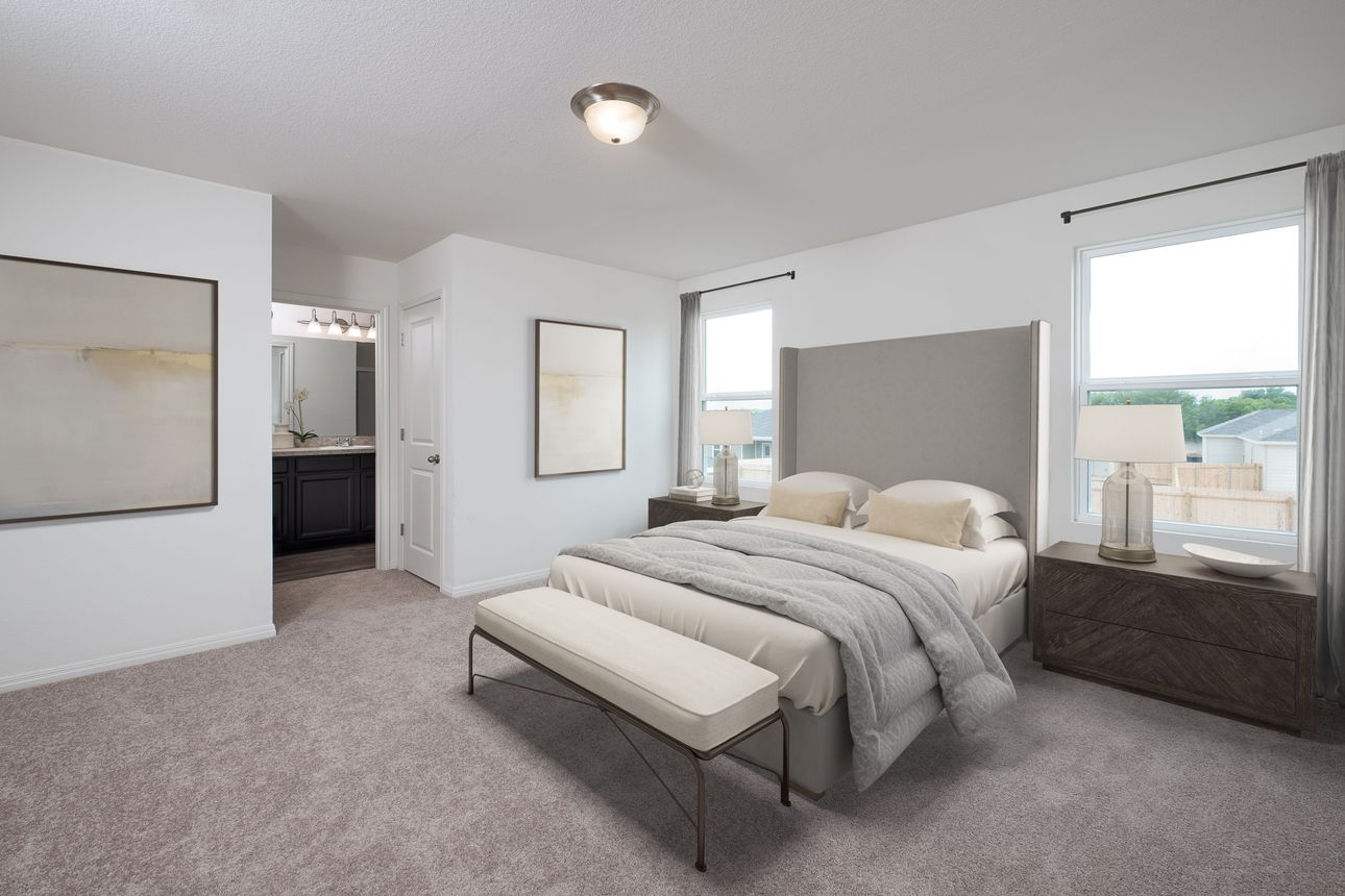 Bedroom featured in the Spectra By Starlight Homes in San Antonio, TX