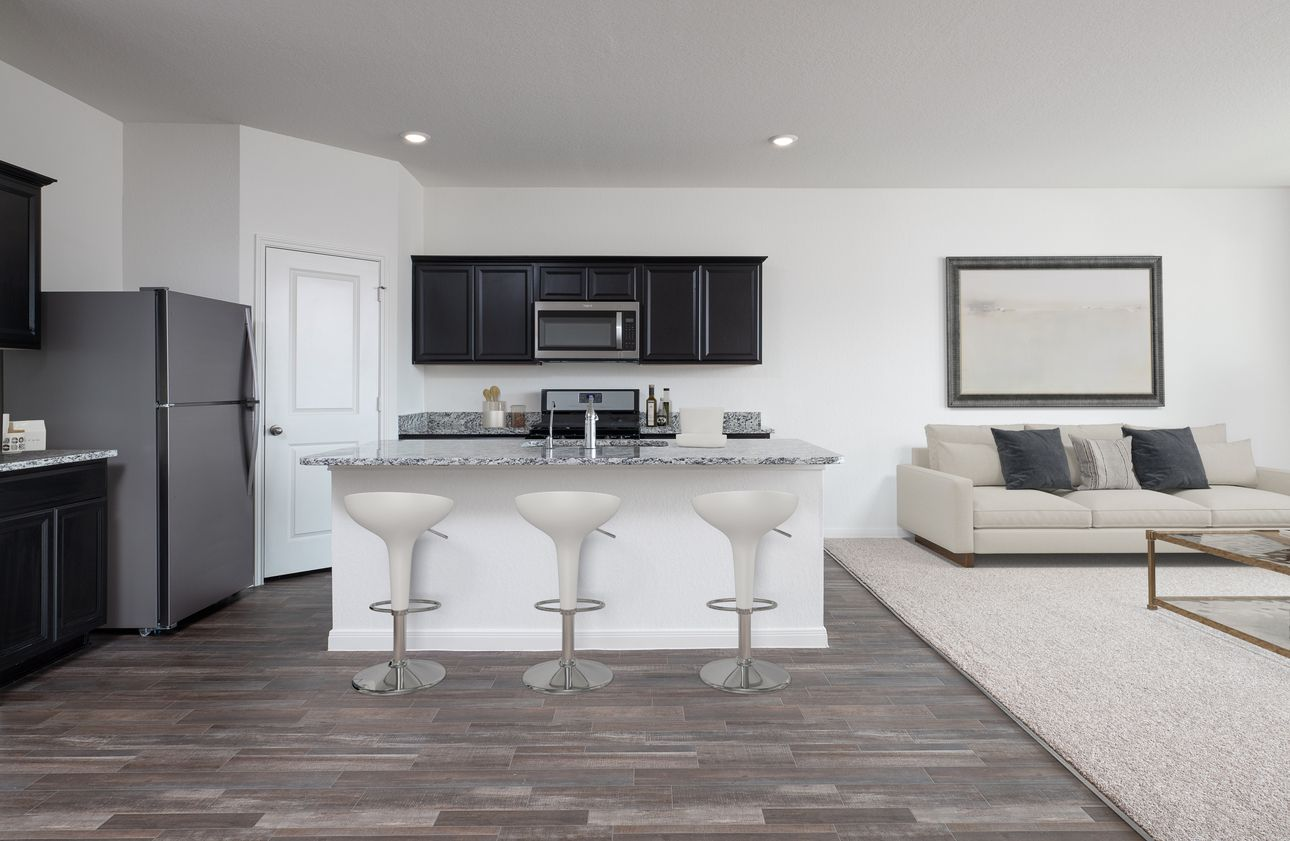Kitchen featured in the Moonbeam By Starlight Homes in San Antonio, TX