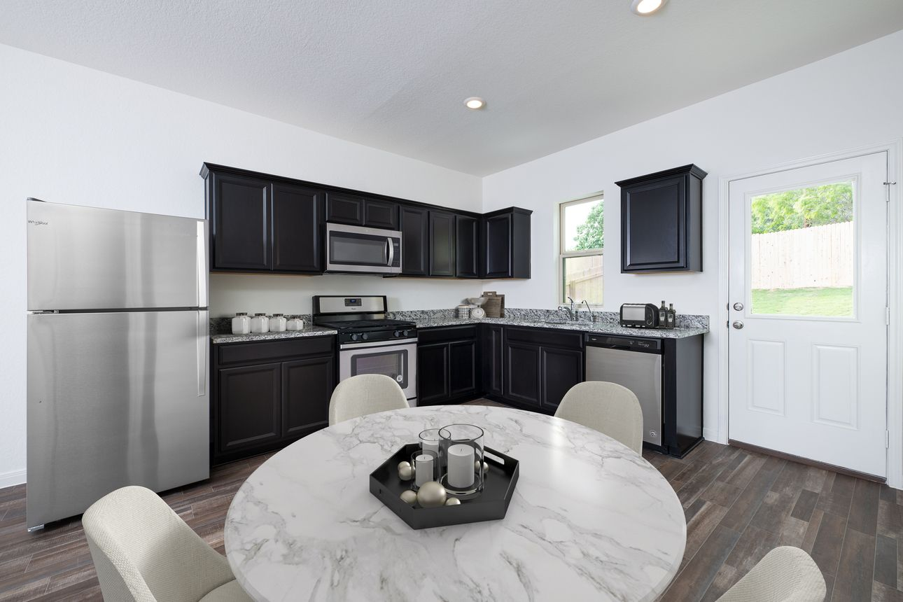 Kitchen featured in the Atlantis By Starlight Homes in Daytona Beach, FL