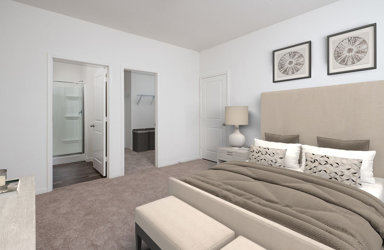 Bedroom featured in the Atlantis By Starlight Homes in Daytona Beach, FL
