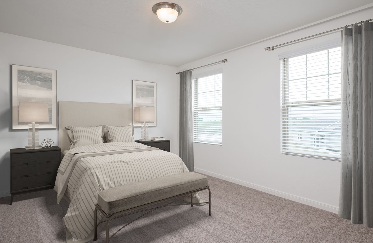 Bedroom featured in the Voyager By Starlight Homes in Daytona Beach, FL