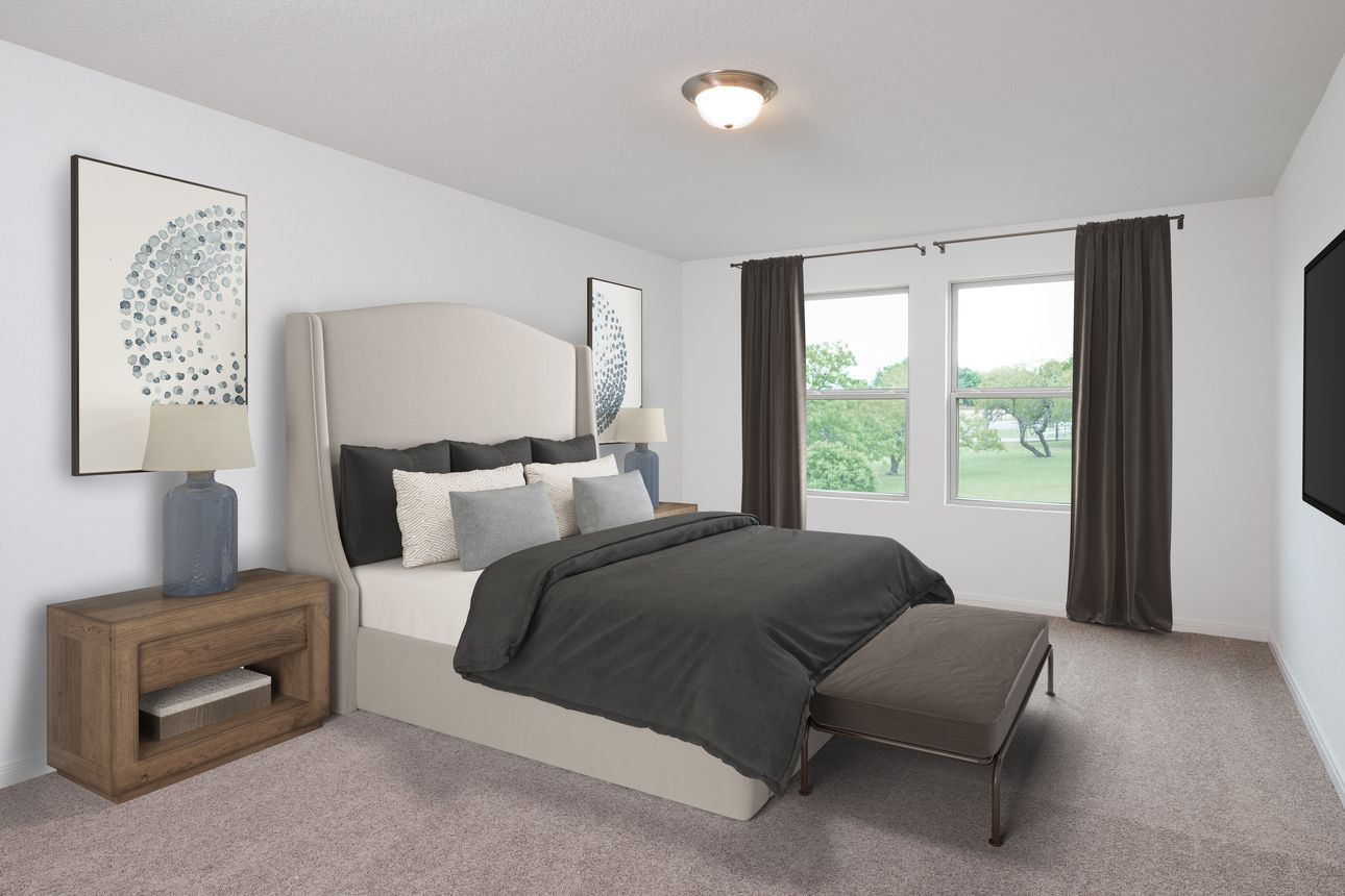 Bedroom featured in the Magellan By Starlight Homes in Daytona Beach, FL