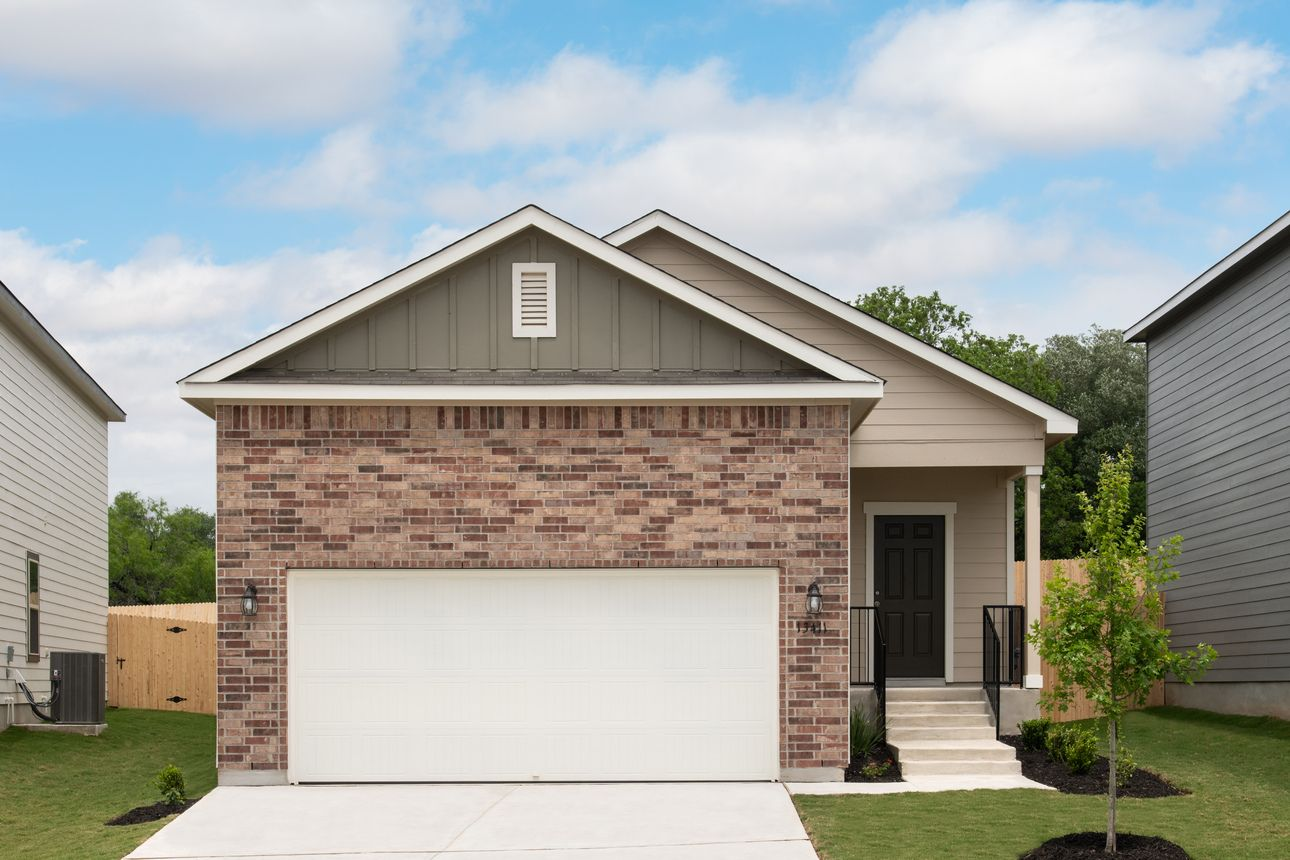 Exterior featured in the Odyssey By Starlight Homes in San Antonio, TX