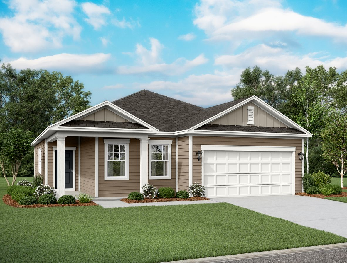Exterior featured in the Larissa By Starlight Homes in Austin, TX