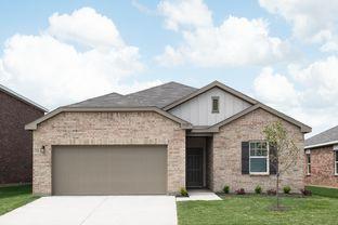 Luna - McPherson Village: Crowley, Texas - Starlight Homes
