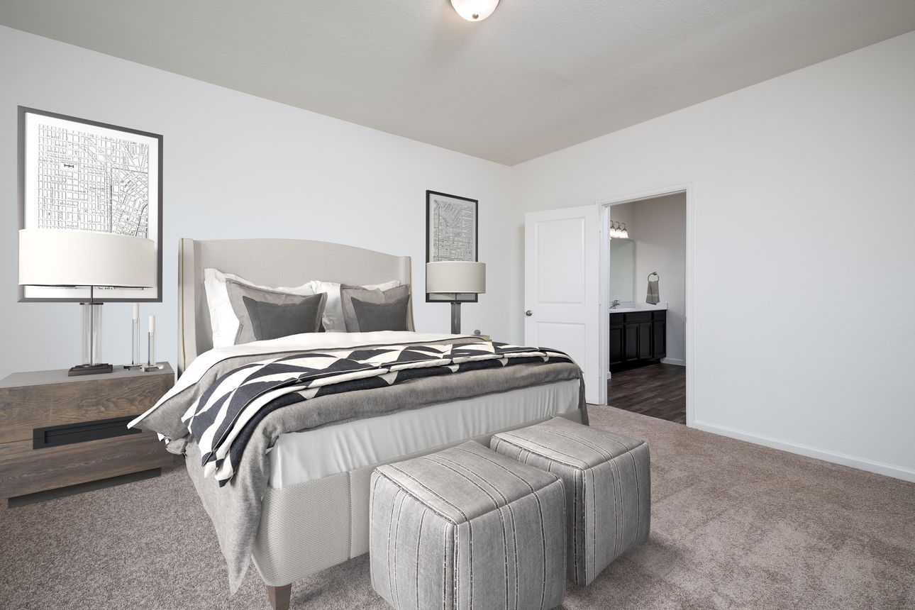 Bedroom featured in the Luna By Starlight Homes in Lakeland-Winter Haven, FL
