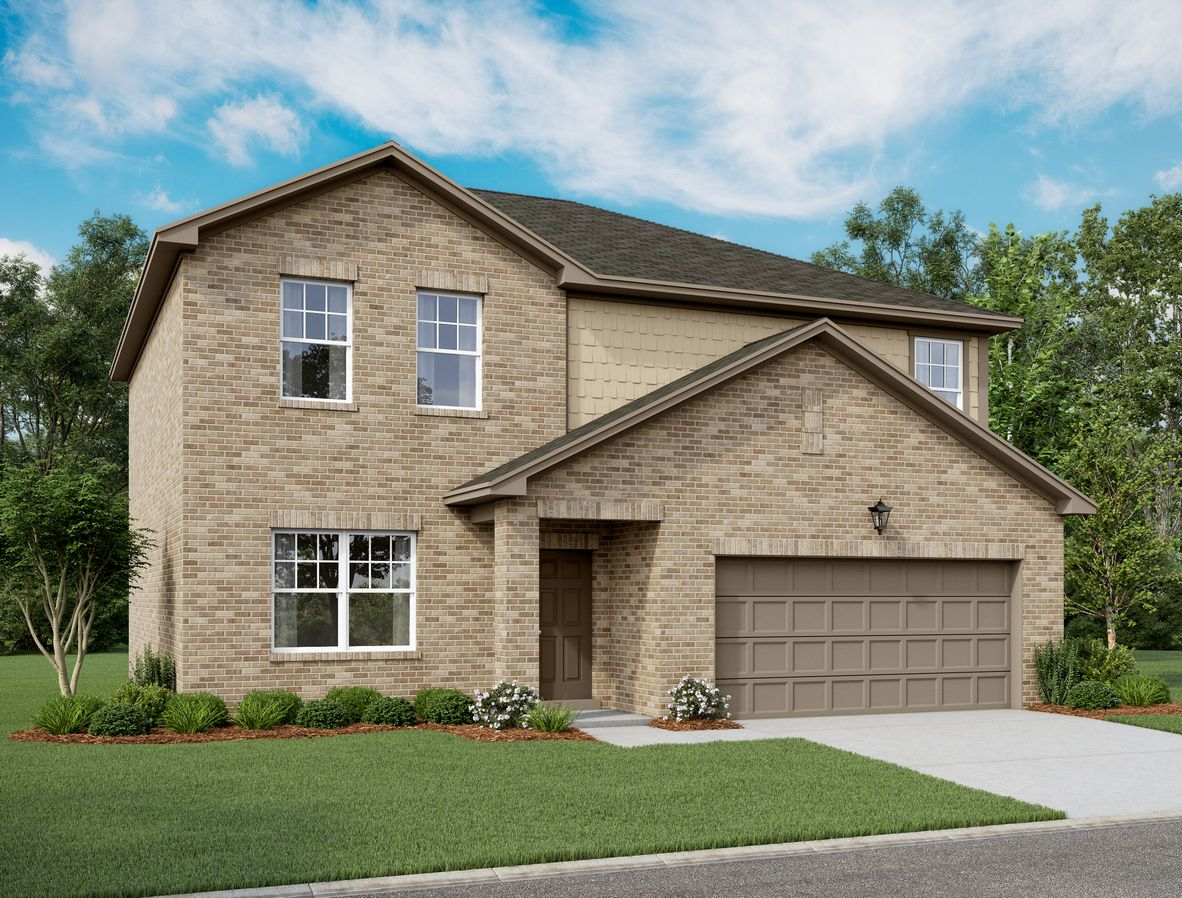 Exterior featured in the Beacon By Starlight Homes in Fort Worth, TX