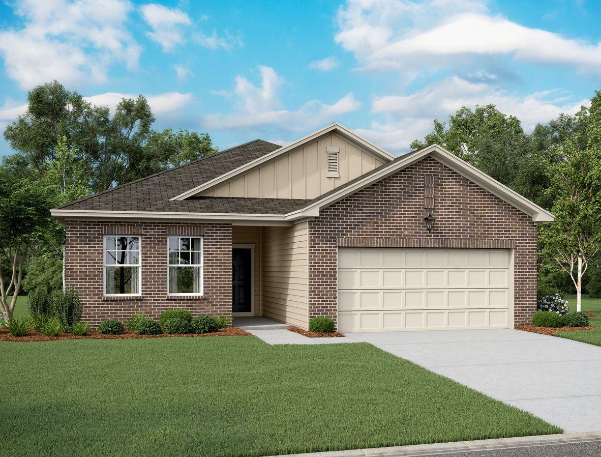 Exterior featured in the Firefly By Starlight Homes in Dallas, TX