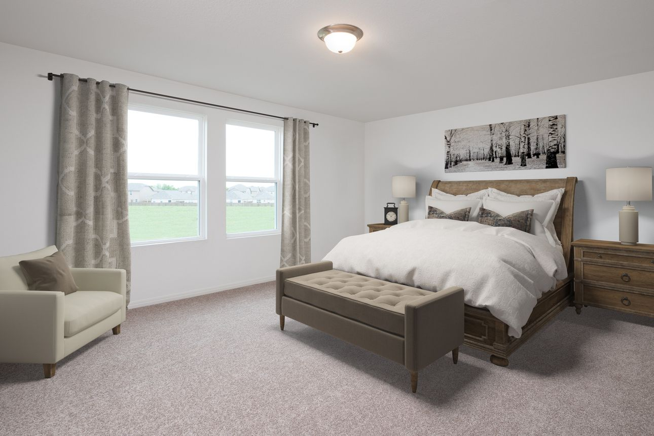 Bedroom featured in the Supernova By Starlight Homes in Charleston, SC
