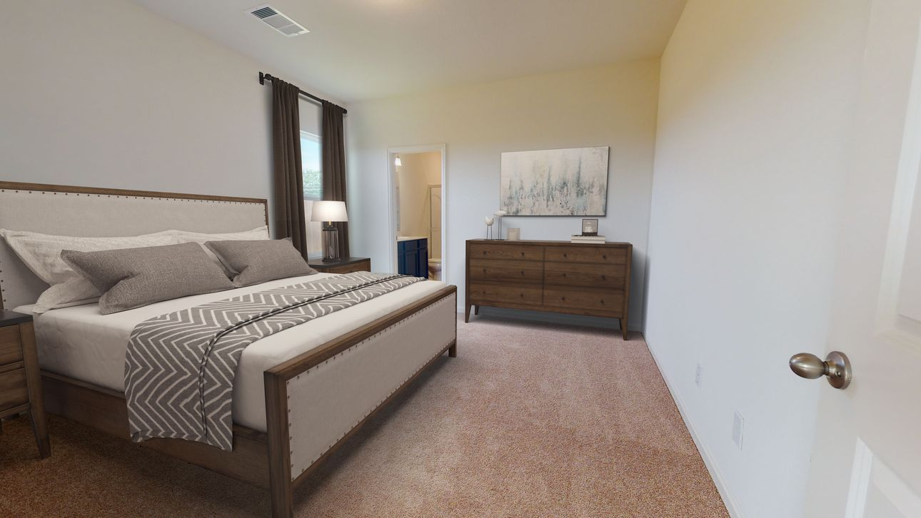 Bedroom featured in the Falcon By Starlight Homes in San Antonio, TX