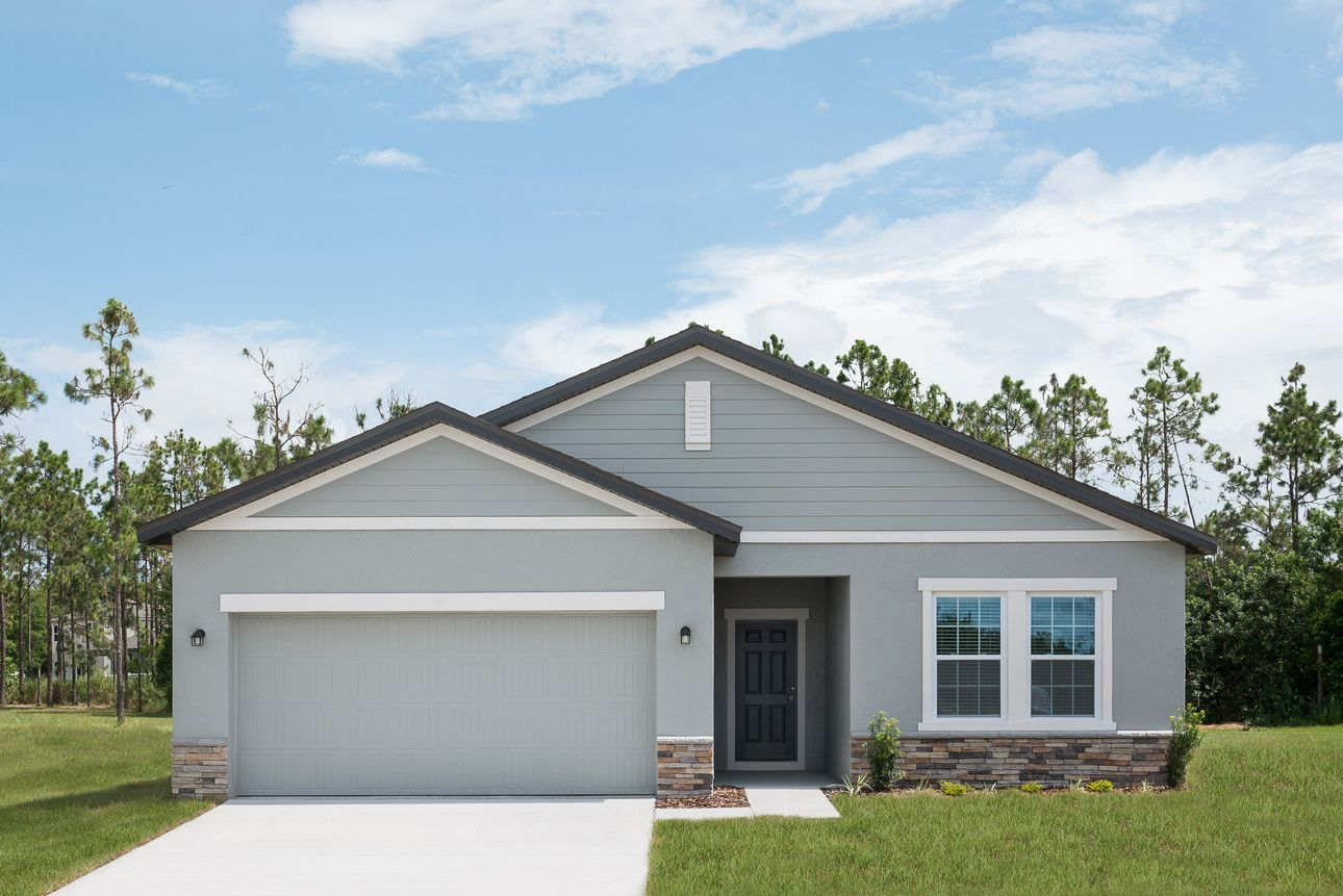 Exterior featured in the Firefly By Starlight Homes in Lakeland-Winter Haven, FL
