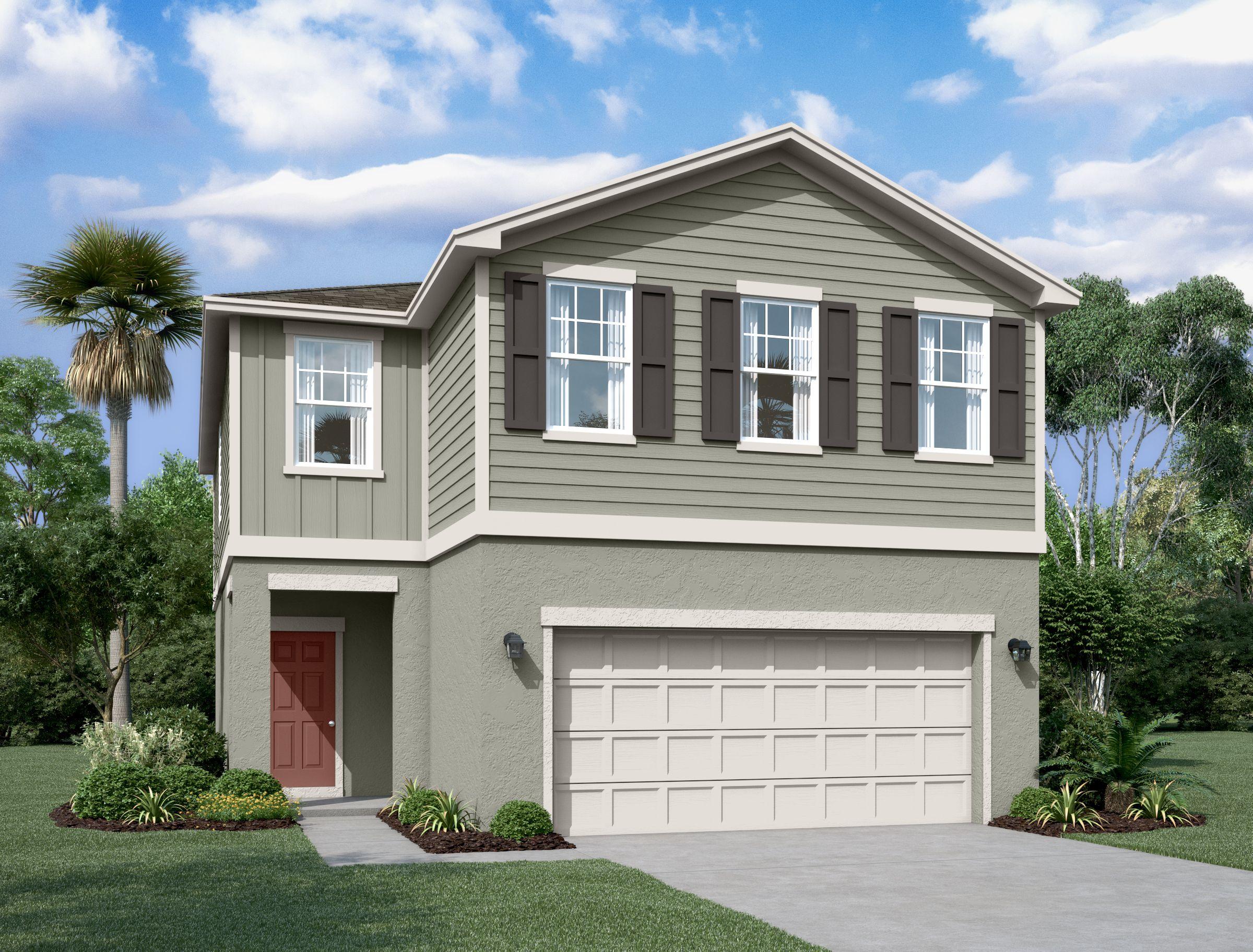 'Lincoln Oaks' by Starlight Homes-Central Florida in Daytona Beach