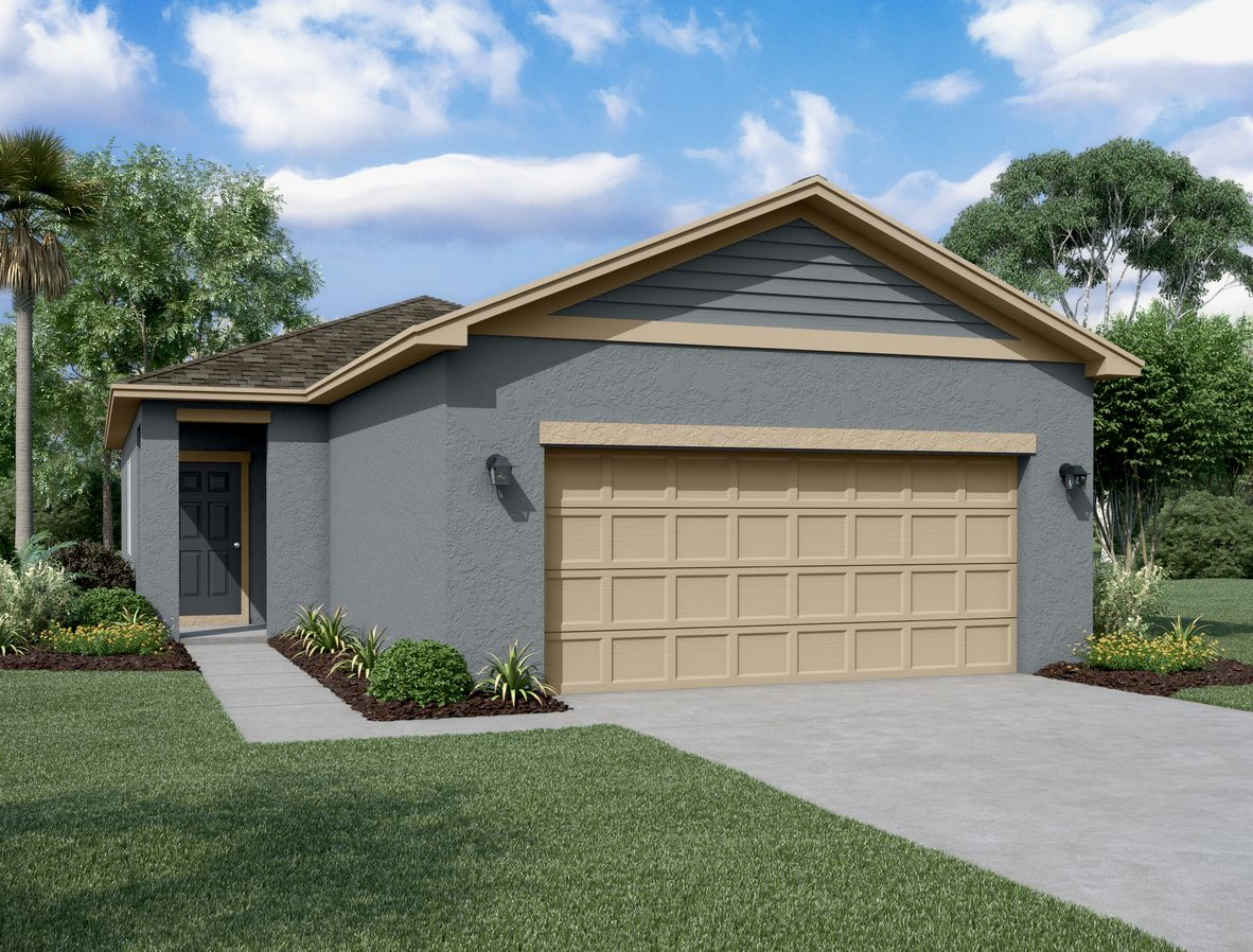 Exterior featured in the Atlantis By Starlight Homes in Daytona Beach, FL
