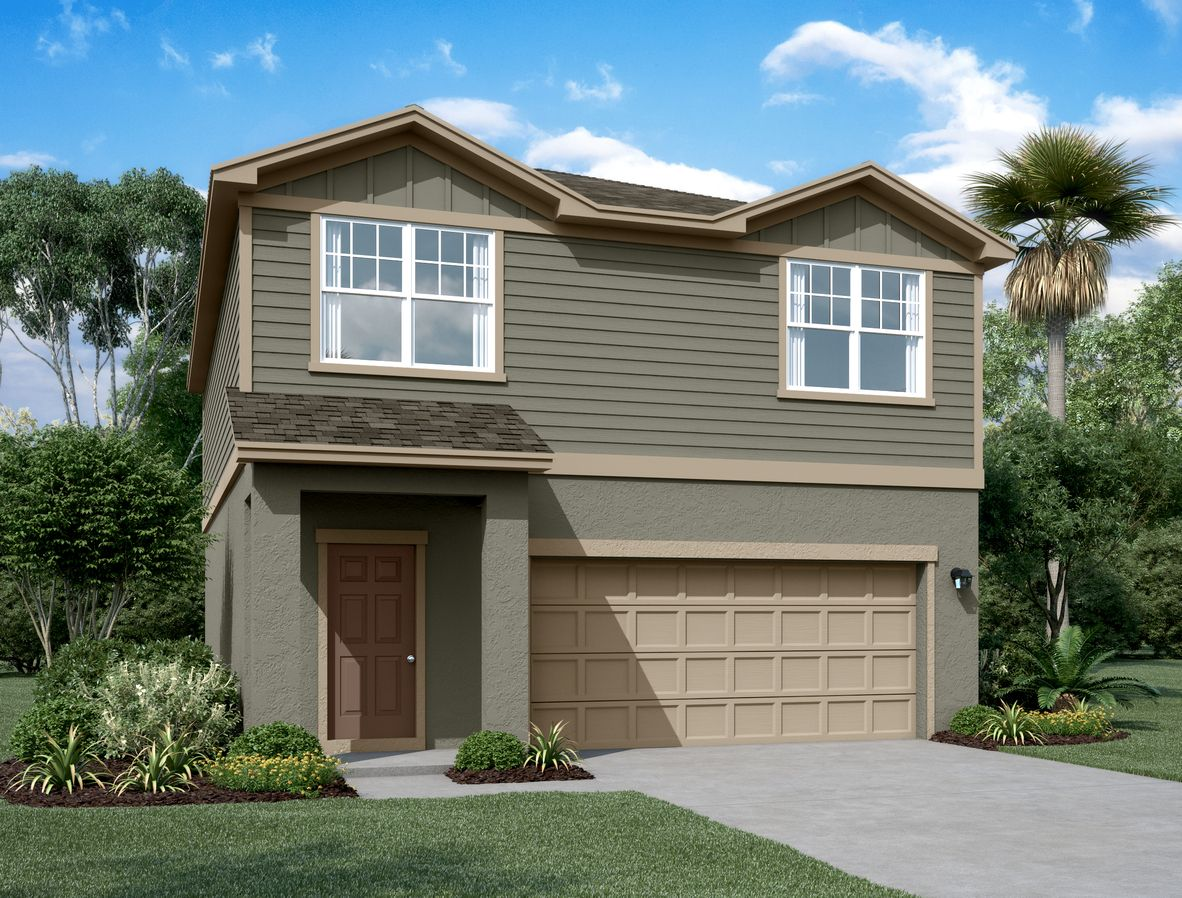 Exterior featured in the Voyager By Starlight Homes in Daytona Beach, FL