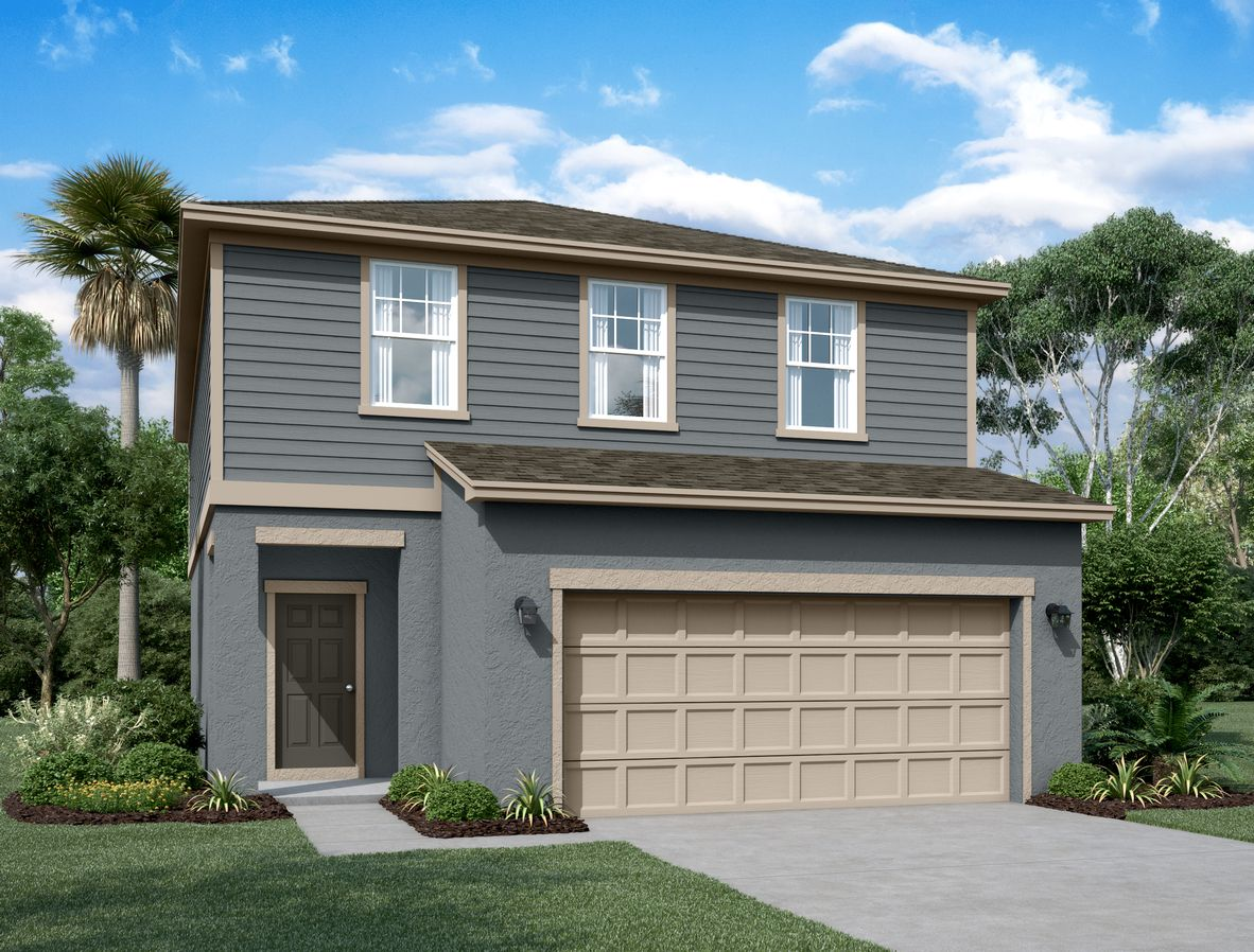 Exterior featured in the Magellan By Starlight Homes in Daytona Beach, FL
