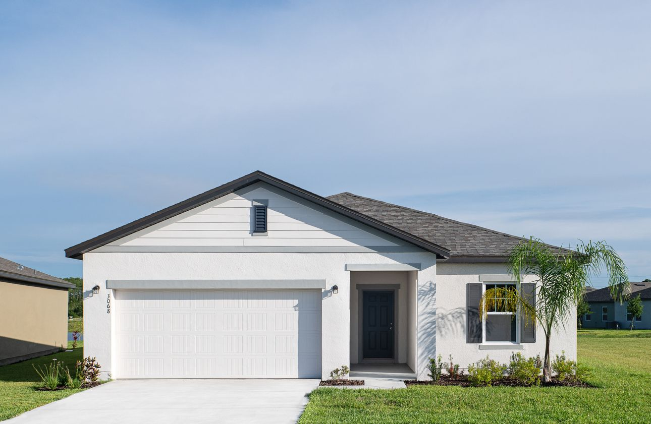 Exterior featured in the Luna By Starlight Homes in Orlando, FL