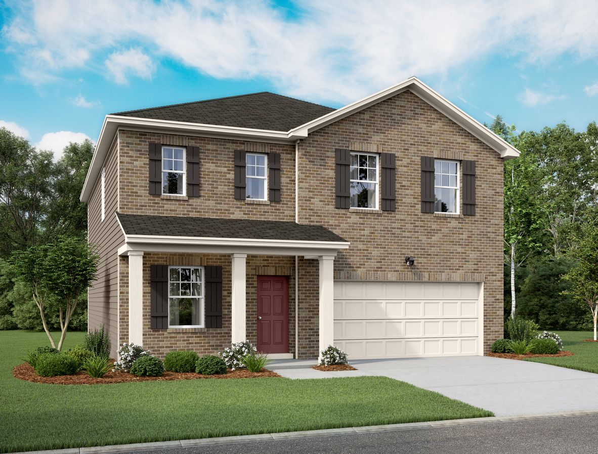 Exterior featured in the Spectra By Starlight Homes in San Antonio, TX
