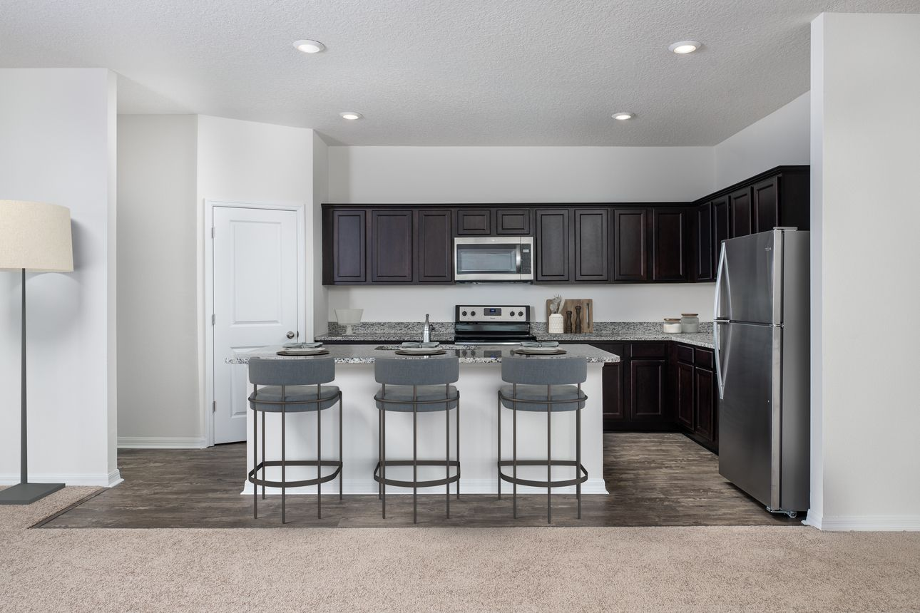 Kitchen featured in the Prism By Starlight Homes in San Antonio, TX
