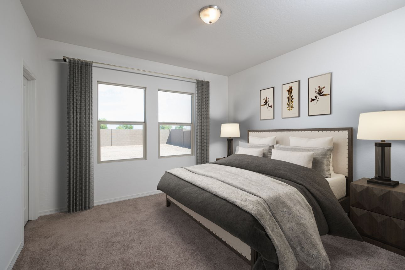 Bedroom featured in the Prism By Starlight Homes in San Antonio, TX
