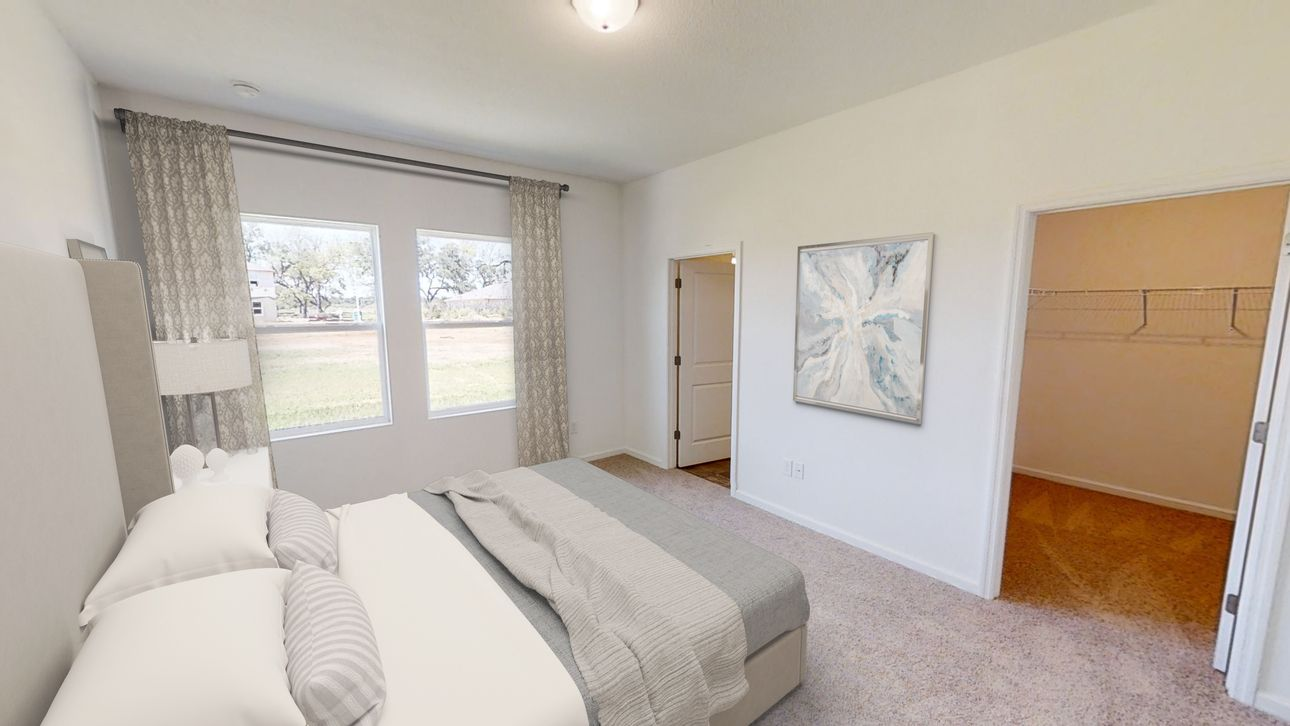 Bedroom featured in the Palomar By Starlight Homes in Tampa-St. Petersburg, FL