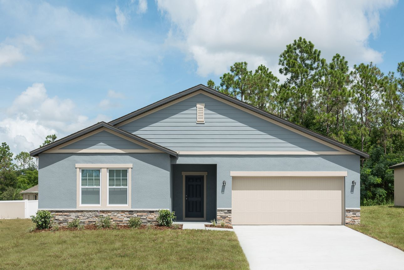 Exterior featured in the Ophelia By Starlight Homes in Tampa-St. Petersburg, FL
