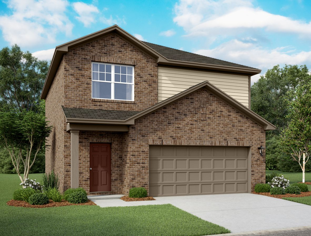 Exterior featured in the Endeavor By Starlight Homes in Dallas, TX