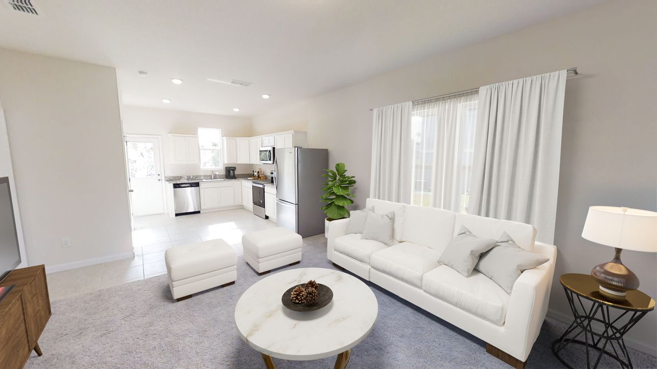 Living Area featured in the Atlantis By Starlight Homes in Daytona Beach, FL