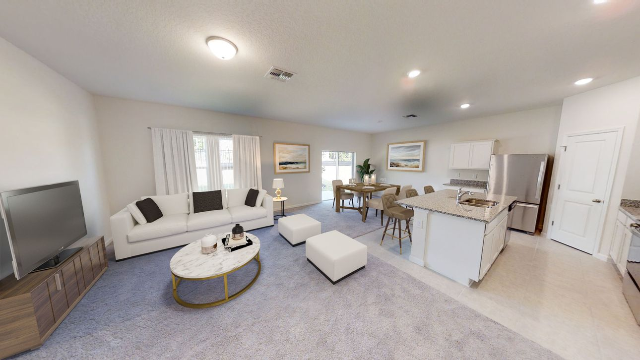 Living Area featured in the Magellan By Starlight Homes in Daytona Beach, FL