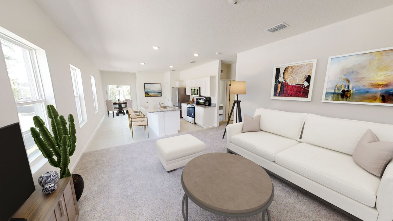 Living Area featured in the Odyssey By Starlight Homes in Daytona Beach, FL