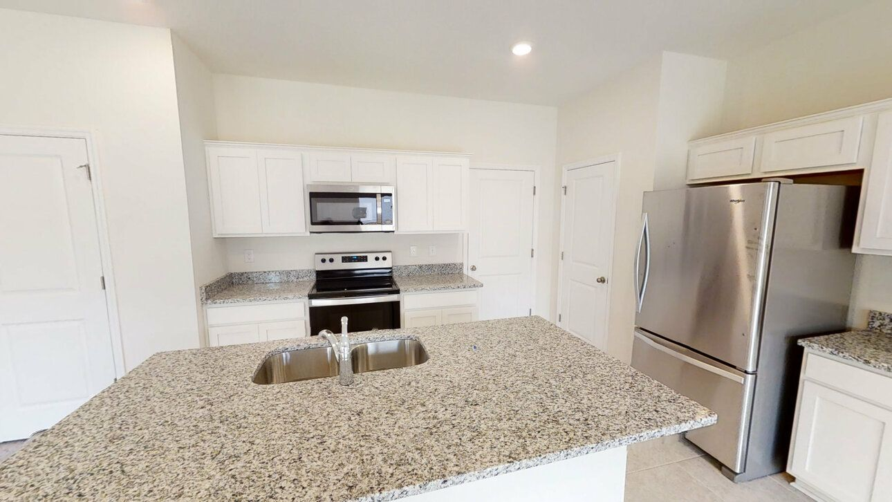 Kitchen featured in the Voyager By Starlight Homes in Daytona Beach, FL