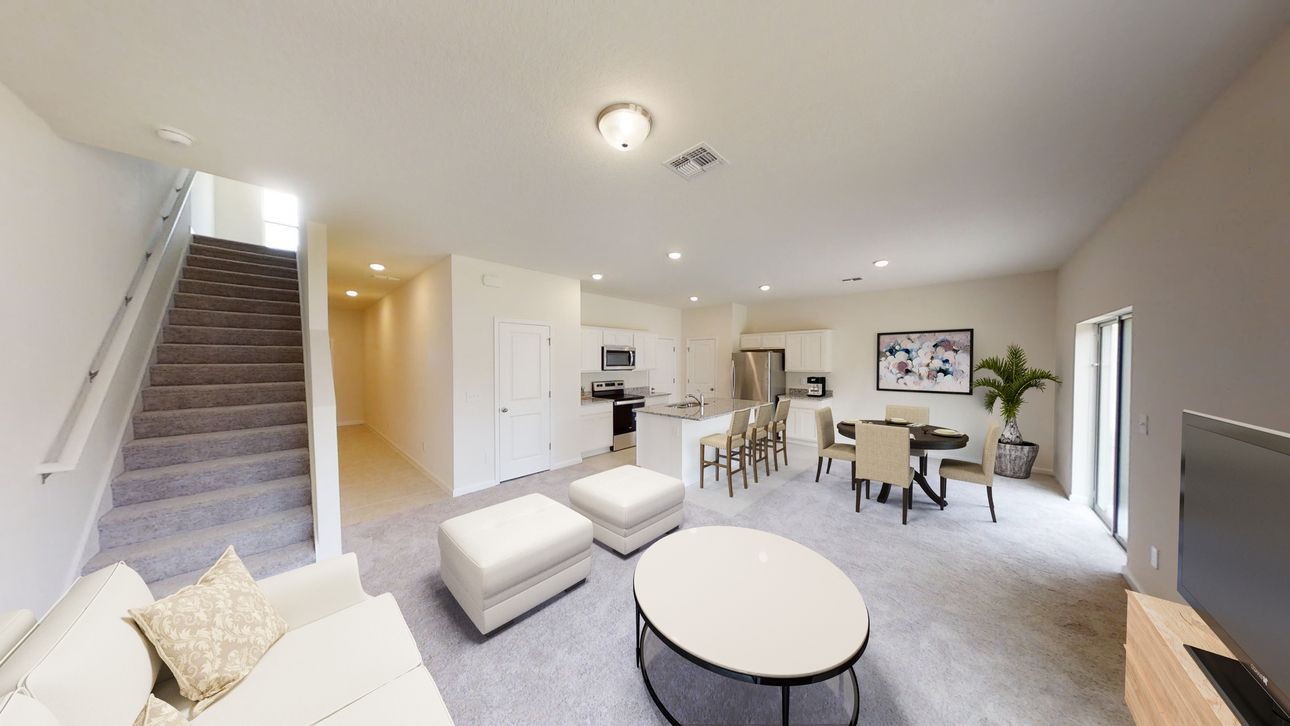 Living Area featured in the Voyager By Starlight Homes in Daytona Beach, FL