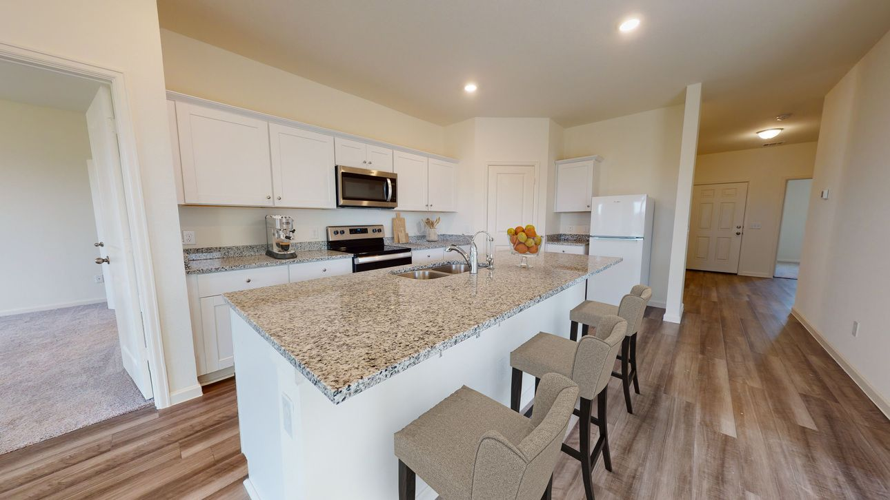 Kitchen featured in the Luna By Starlight Homes in Lakeland-Winter Haven, FL