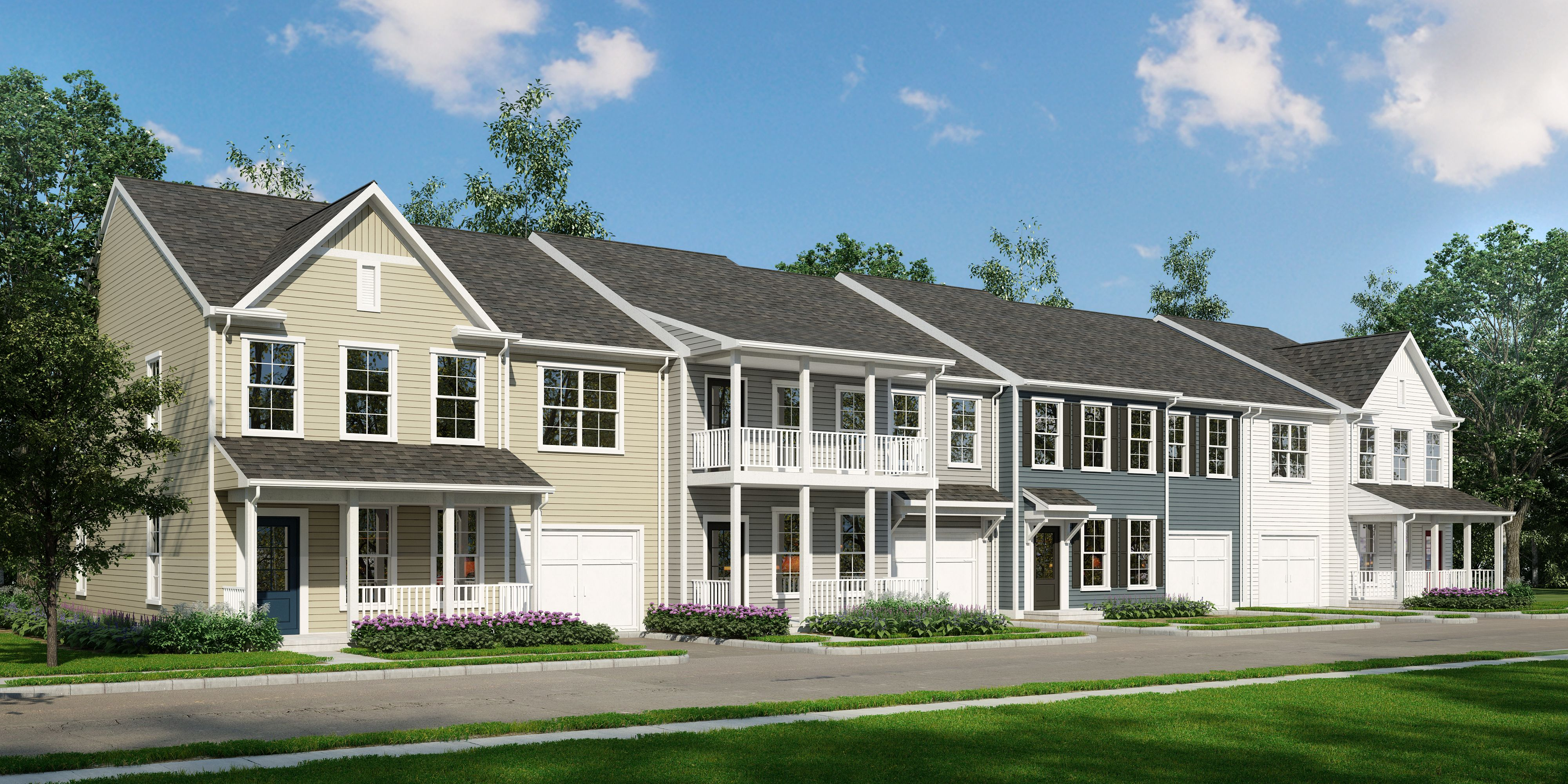 Clifton Townhomes In Christiansburg Va New Homes By Stateson Homes