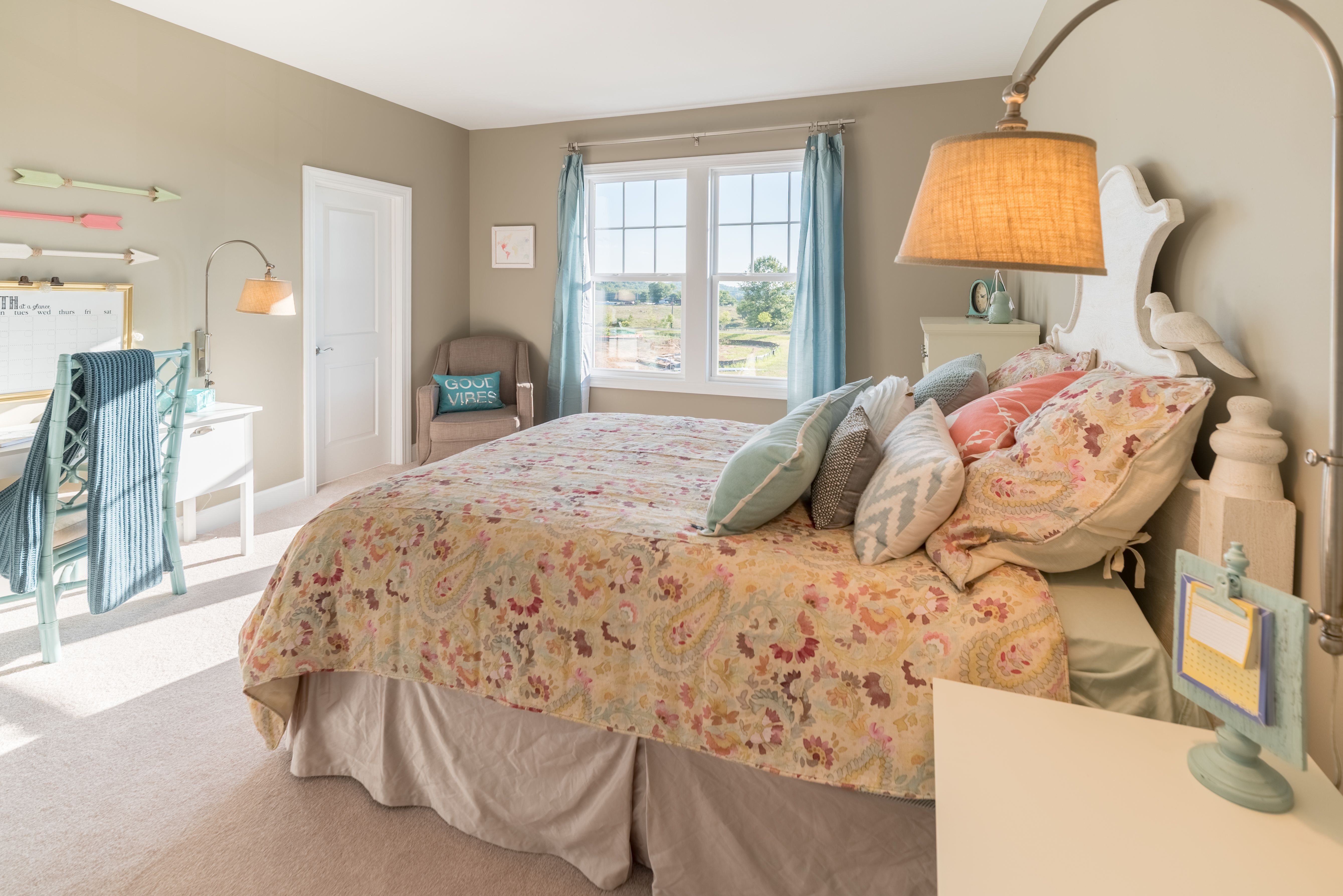 Bedroom featured in The Ashland By Stateson Homes in Blacksburg, VA
