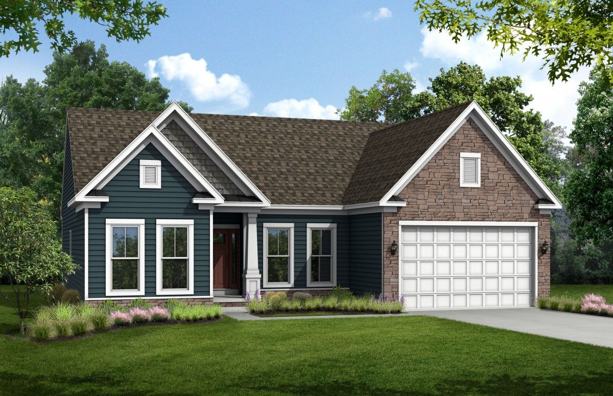 Exterior featured in The Chesapeake By Stateson Homes in Blacksburg, VA