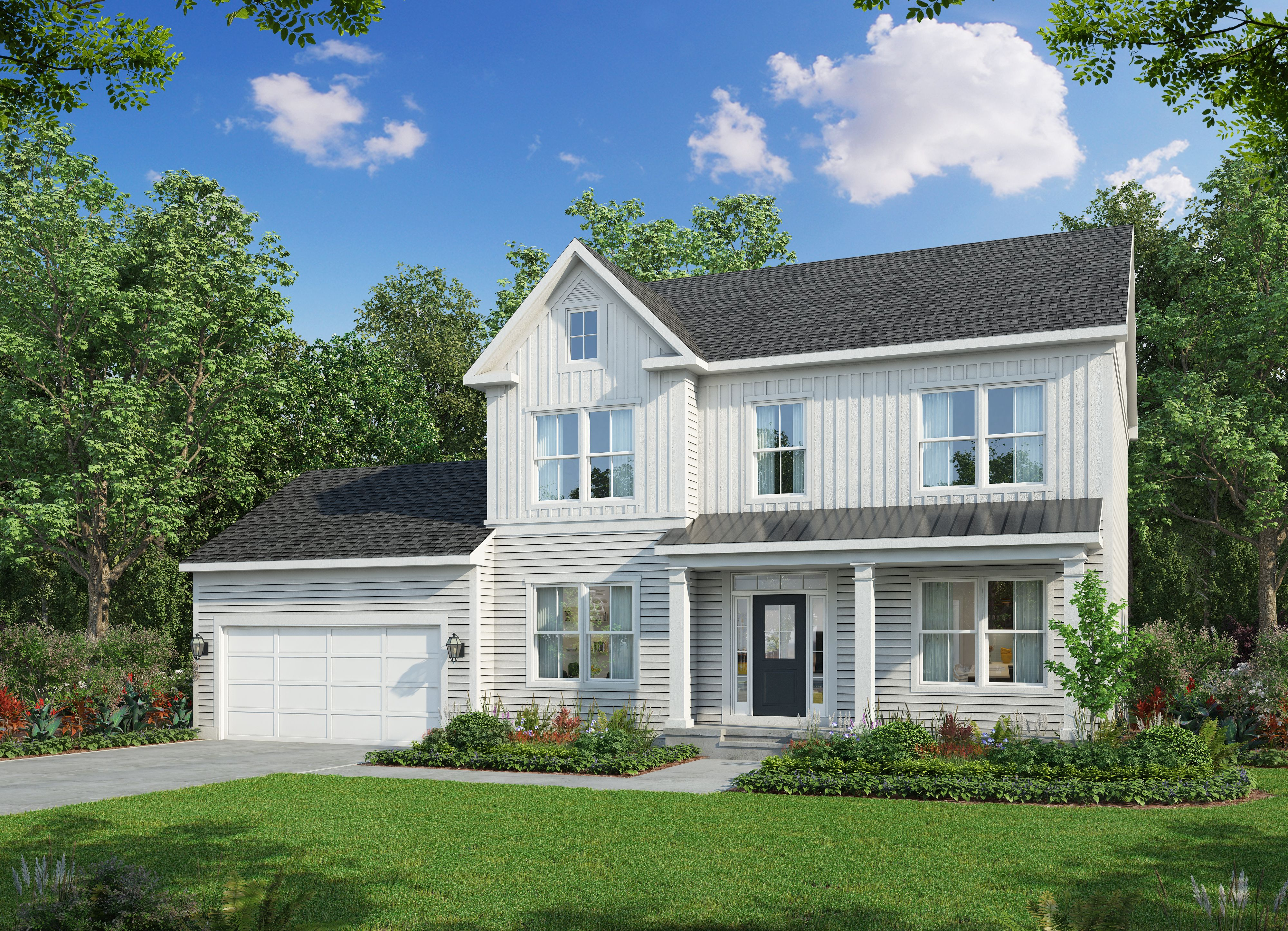 Exterior featured in The Lexington By Stateson Homes in Blacksburg, VA