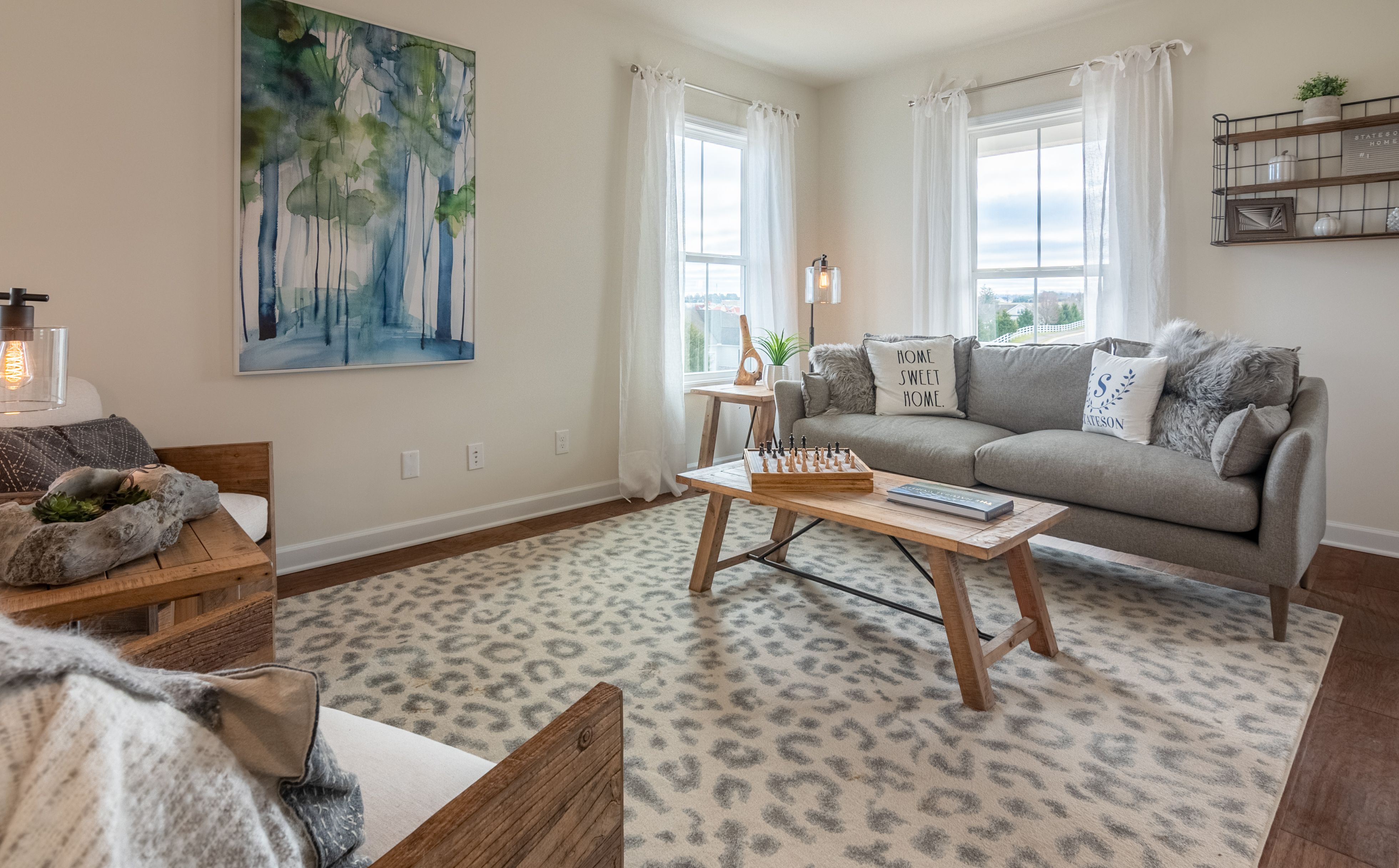 Living Area featured in The Waverly By Stateson Homes in Roanoke, VA