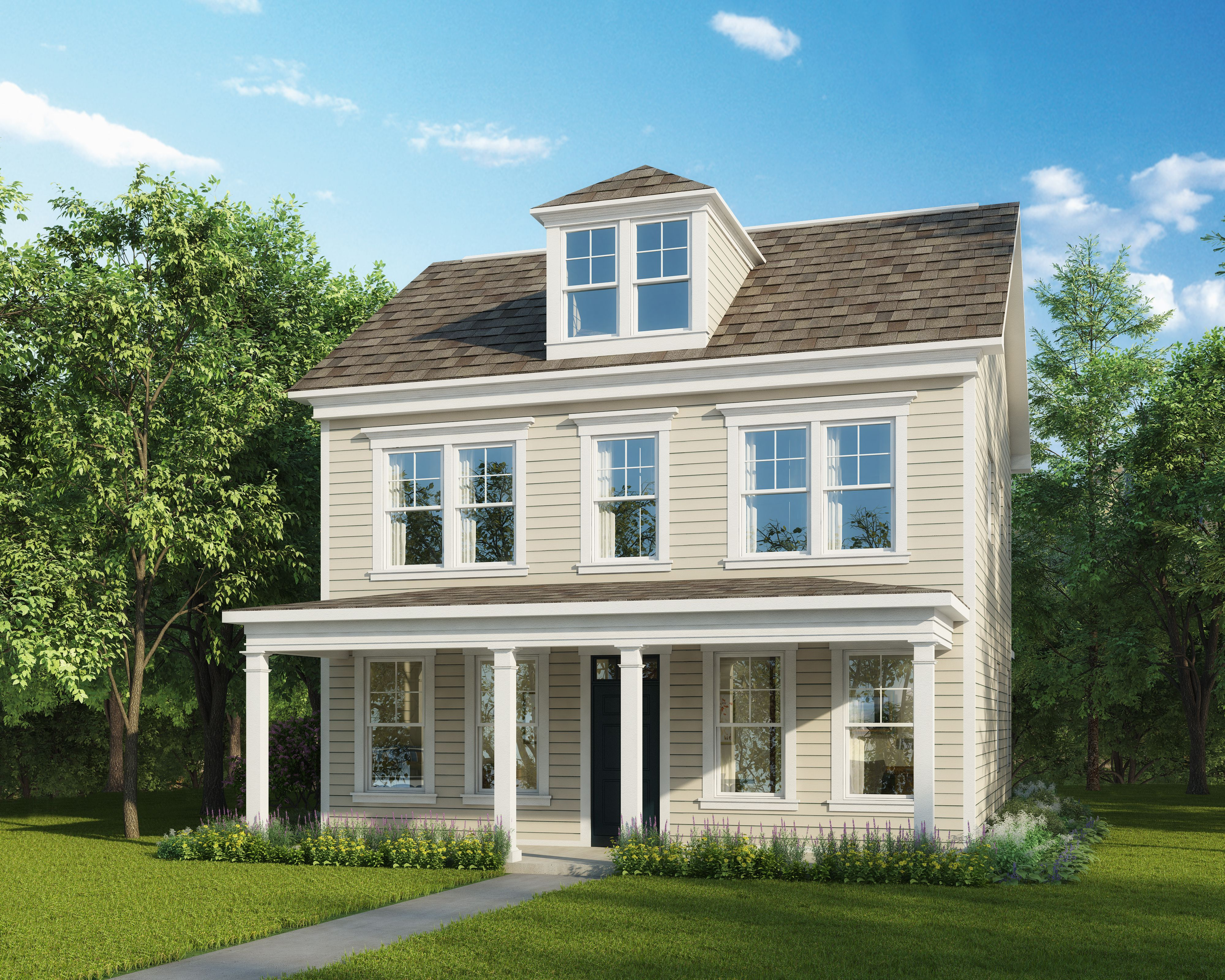 Exterior featured in The Amherst By Stateson Homes in Roanoke, VA