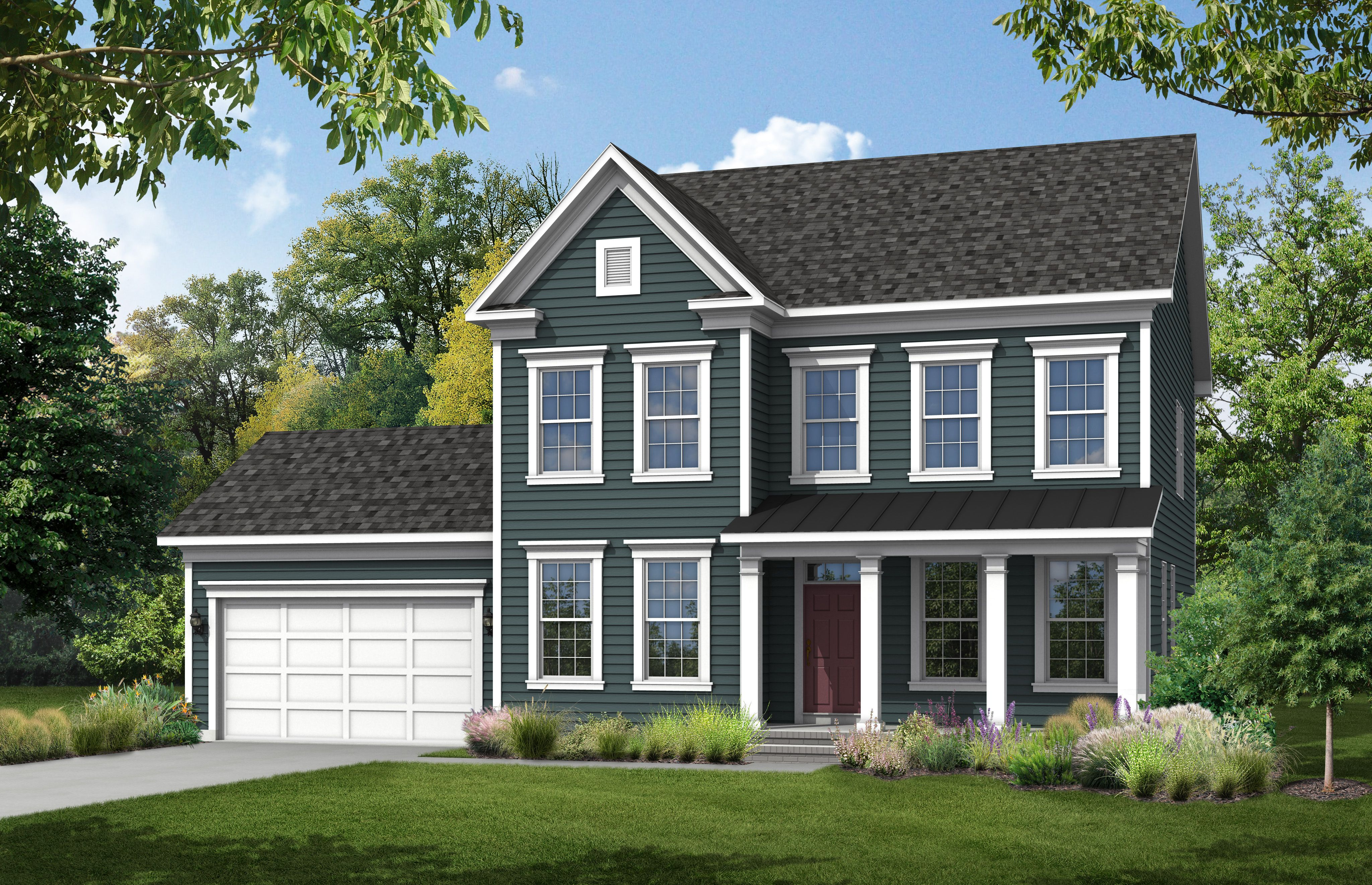 Exterior featured in The Ashland By Stateson Homes in Roanoke, VA