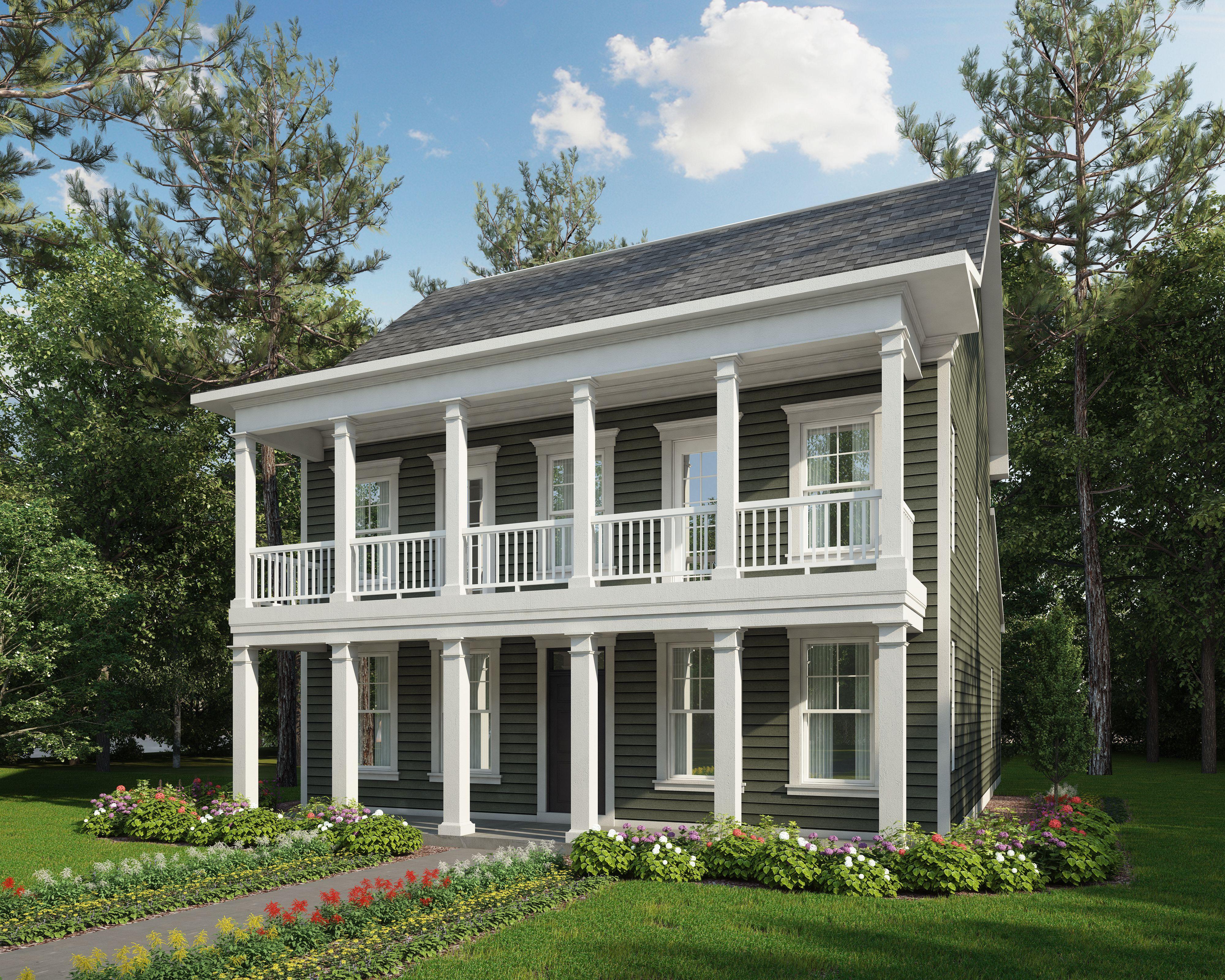 Exterior featured in The Bedford By Stateson Homes in Roanoke, VA