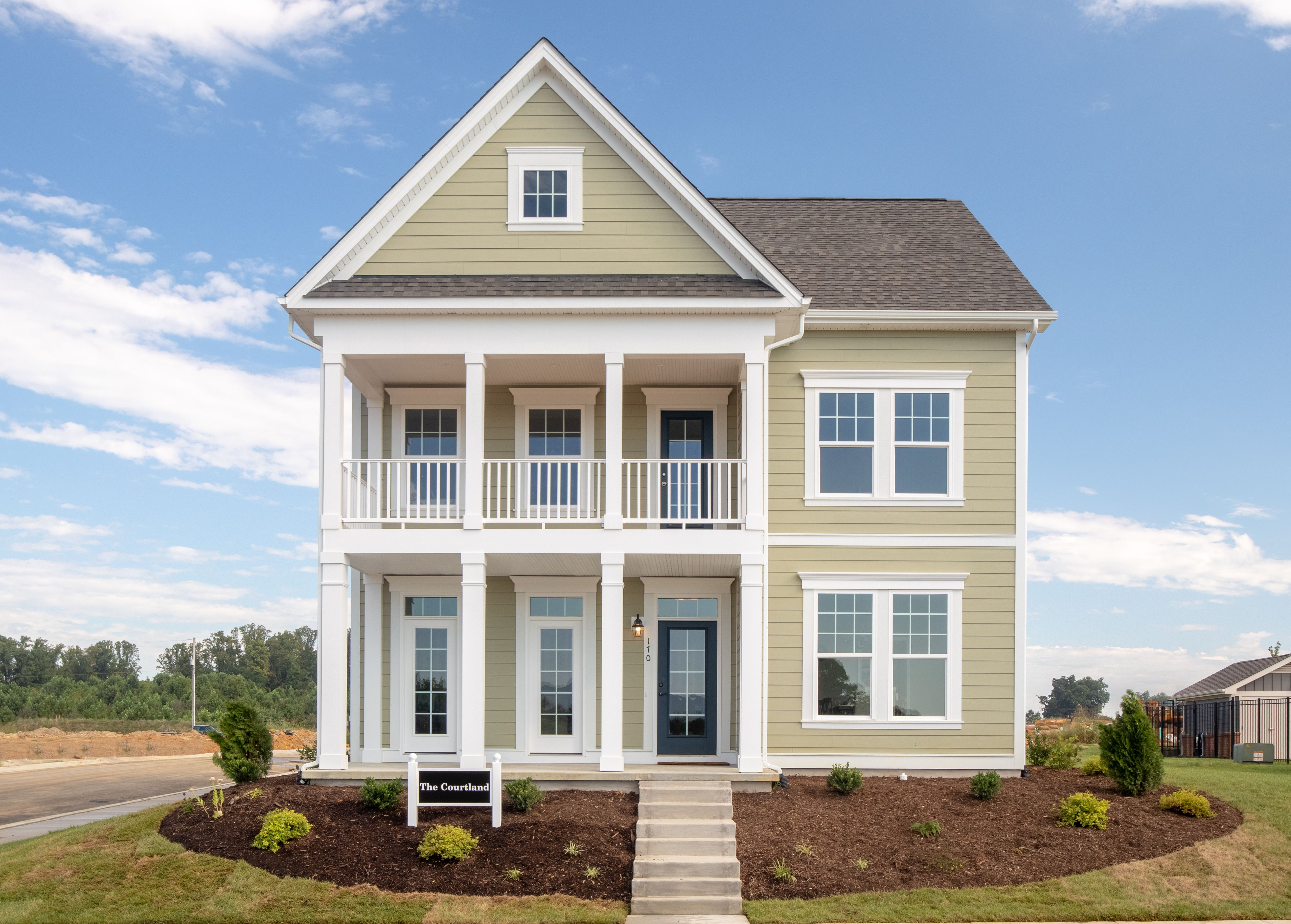 Exterior featured in The Courtland By Stateson Homes in Roanoke, VA