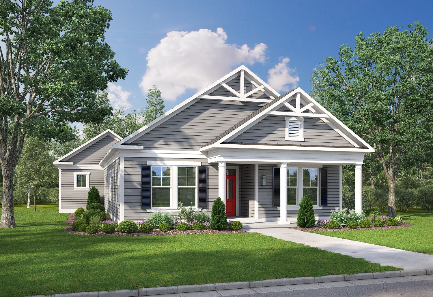 Exterior featured in The Damascus By Stateson Homes in Roanoke, VA