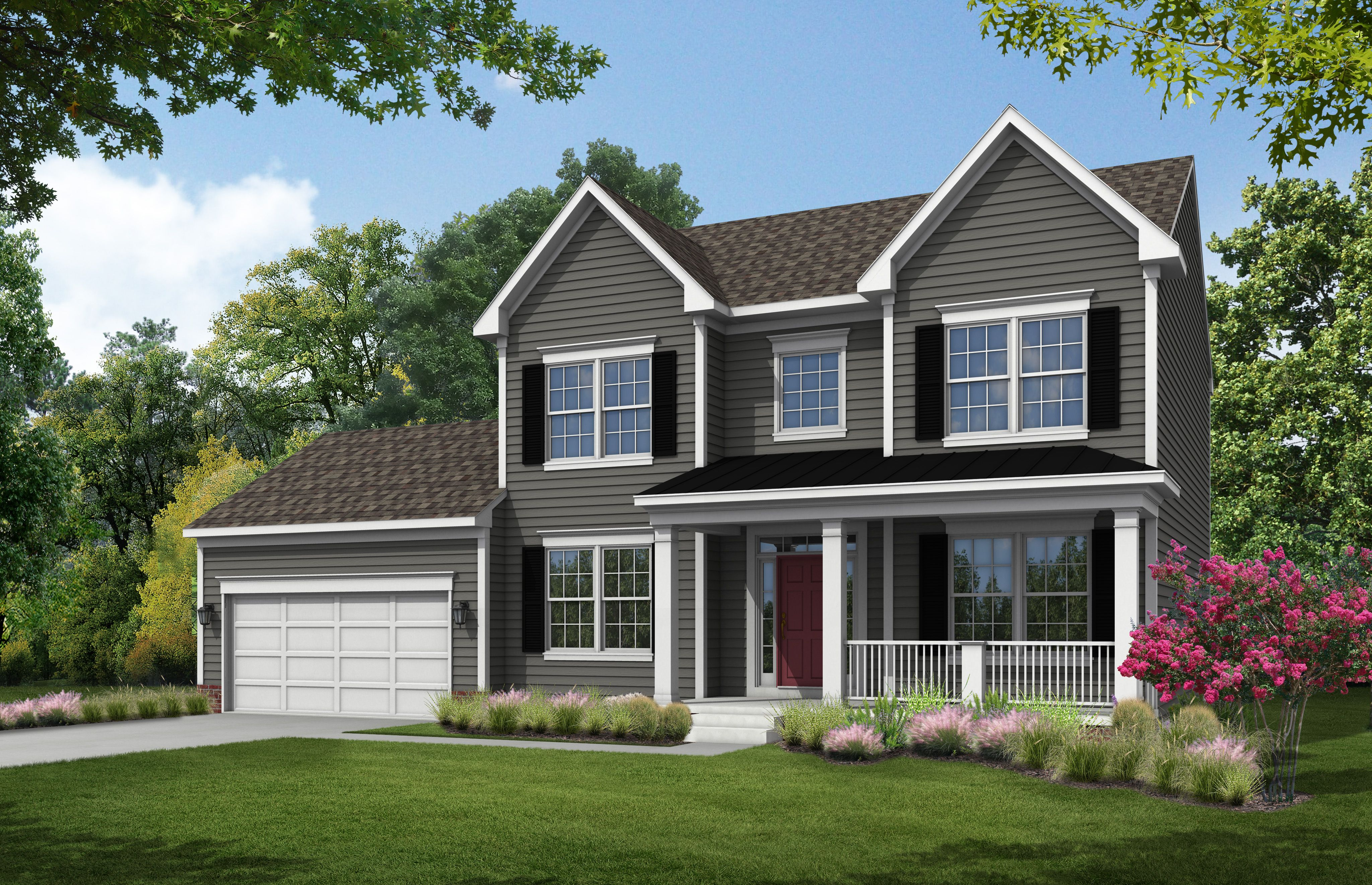 Exterior featured in The Lexington By Stateson Homes in Roanoke, VA